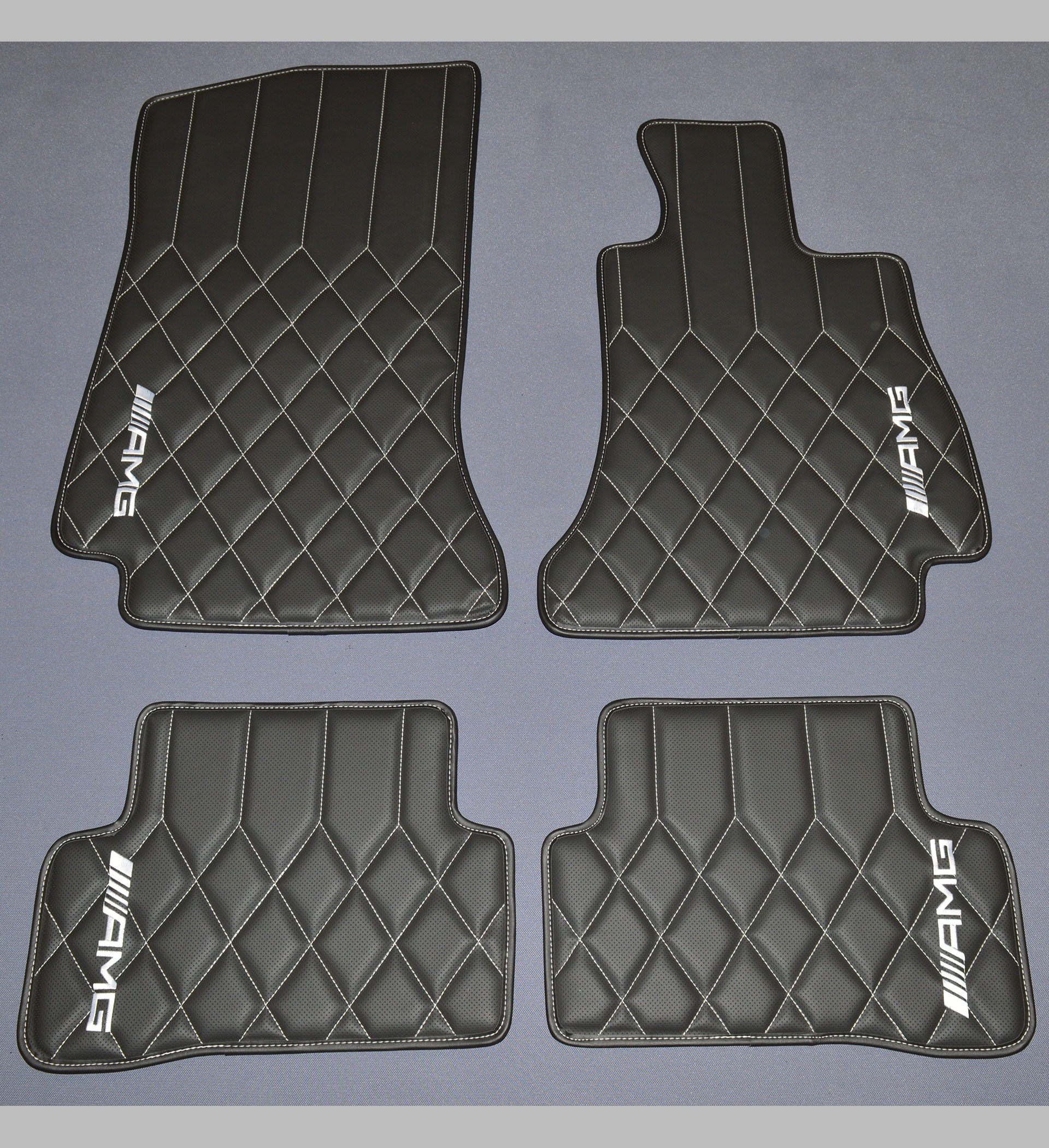 Mercedes Benz C Class W205 Amg Diamond Quilted Leatherette
