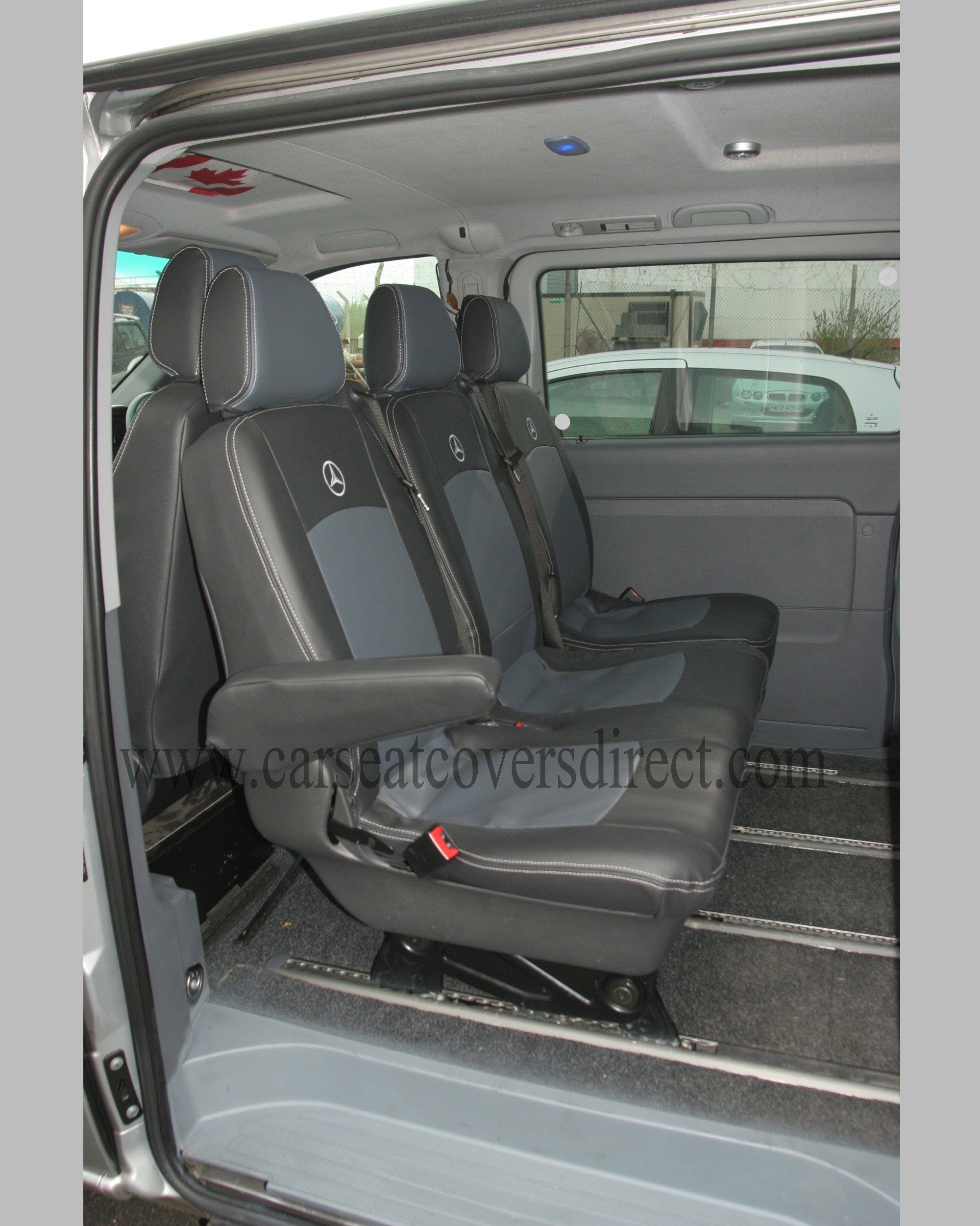 Mercedes Vito Seat Covers Tailored W639 Covers