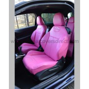 Citreon DS3 Seat Covers - Pink with Logos