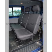 VW Transporter T6 extra heavy duty seat covers - middle bench