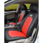 Audi A4 B8 Red & Black Seat Covers
