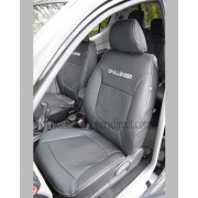 Mitsubishi L200 leather seat covers