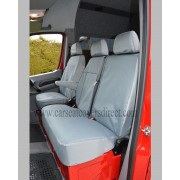 FORD TRANSIT Tipper Extra Heavy Duty Grey Seat Covers