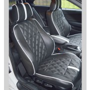 BMW 1 Series Coupe (E82) Diamond Quilted Tailored Car Seat Covers
