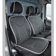 Citroen Dispatch Diamond Quilted Tailored Van Seat Covers