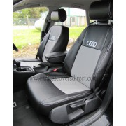 AUDI A4 Black & Grey Car Seat Covers 4TH GEN