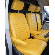 Volkswagen Transporter T6 Yellow Seat Covers