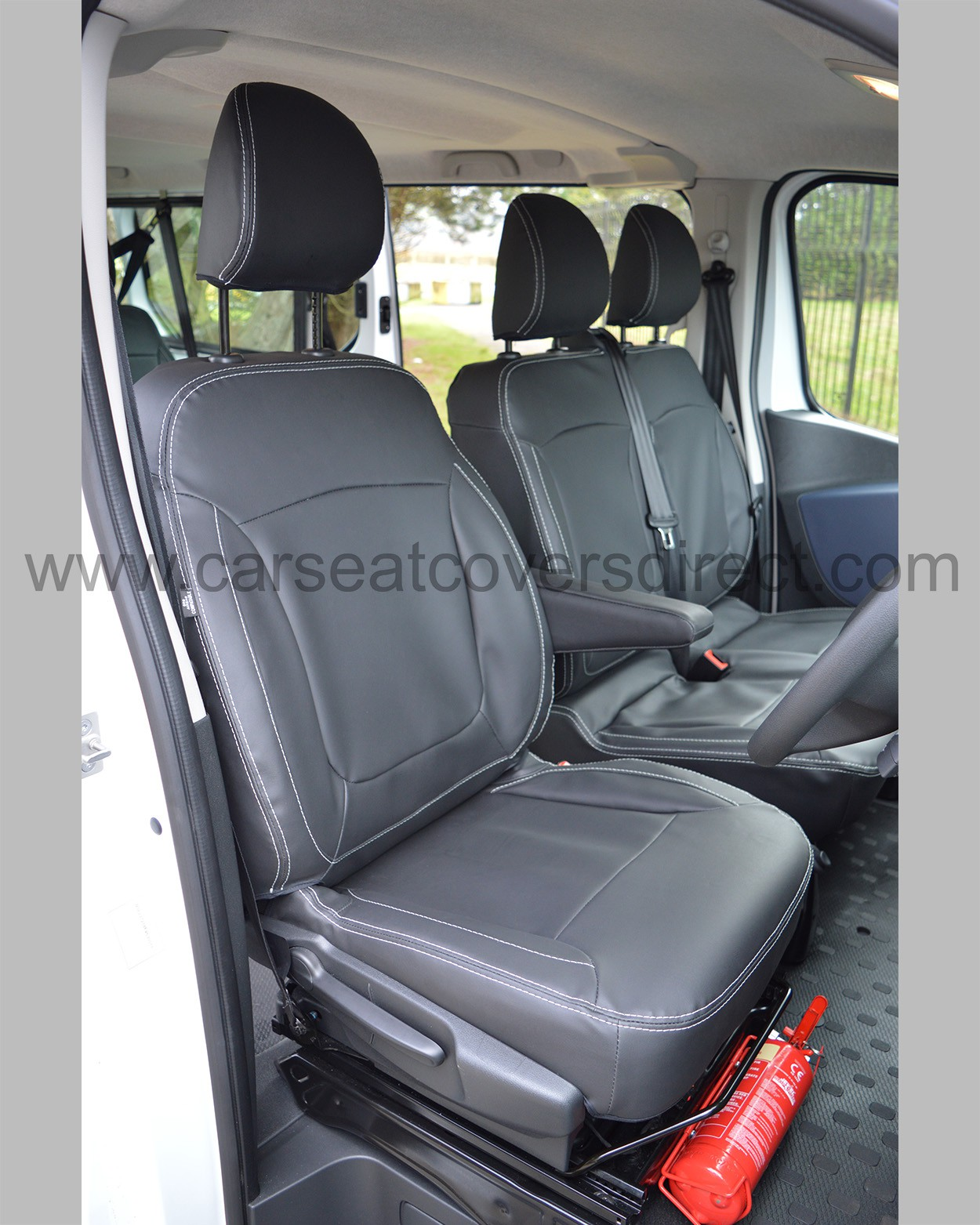 Vauxhall Vivaro Tailored Seat Covers - Drivers seat