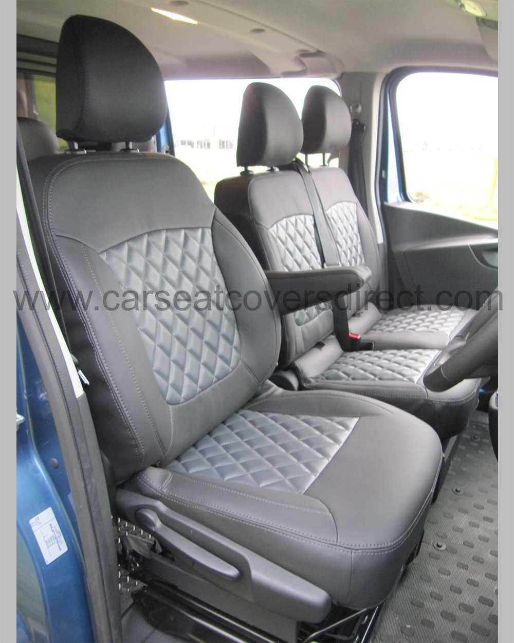 Opel Vivaro Tailored Seat Covers - drivers seat