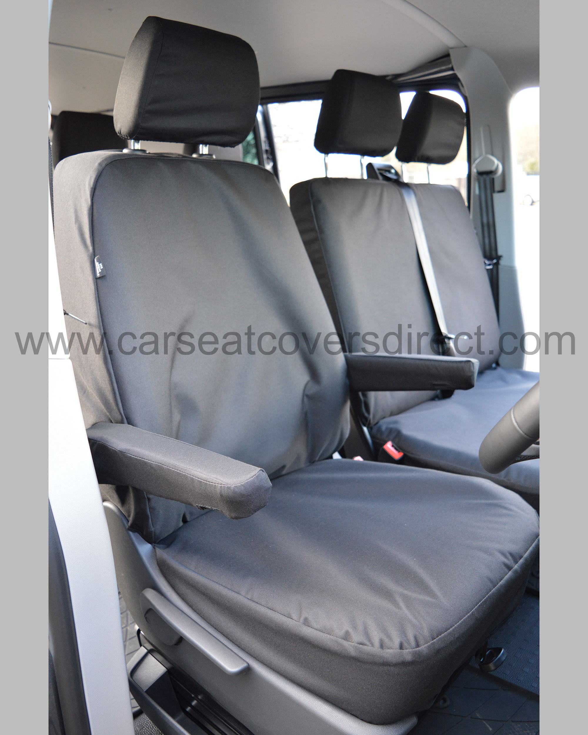 VW Transporter extra heavy duty seat covers - drivers seat