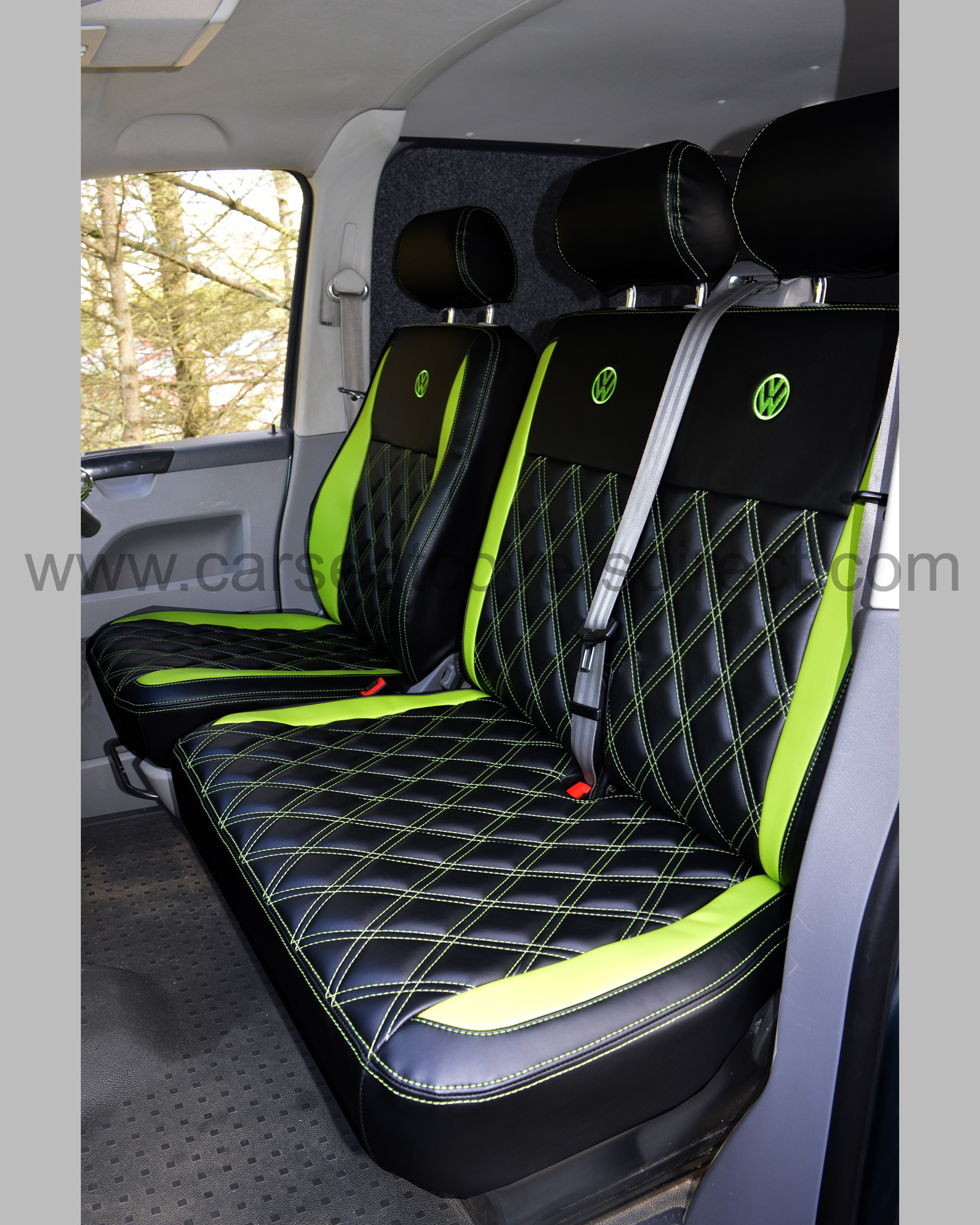 VW T5 Seat Covers - passenger benhc