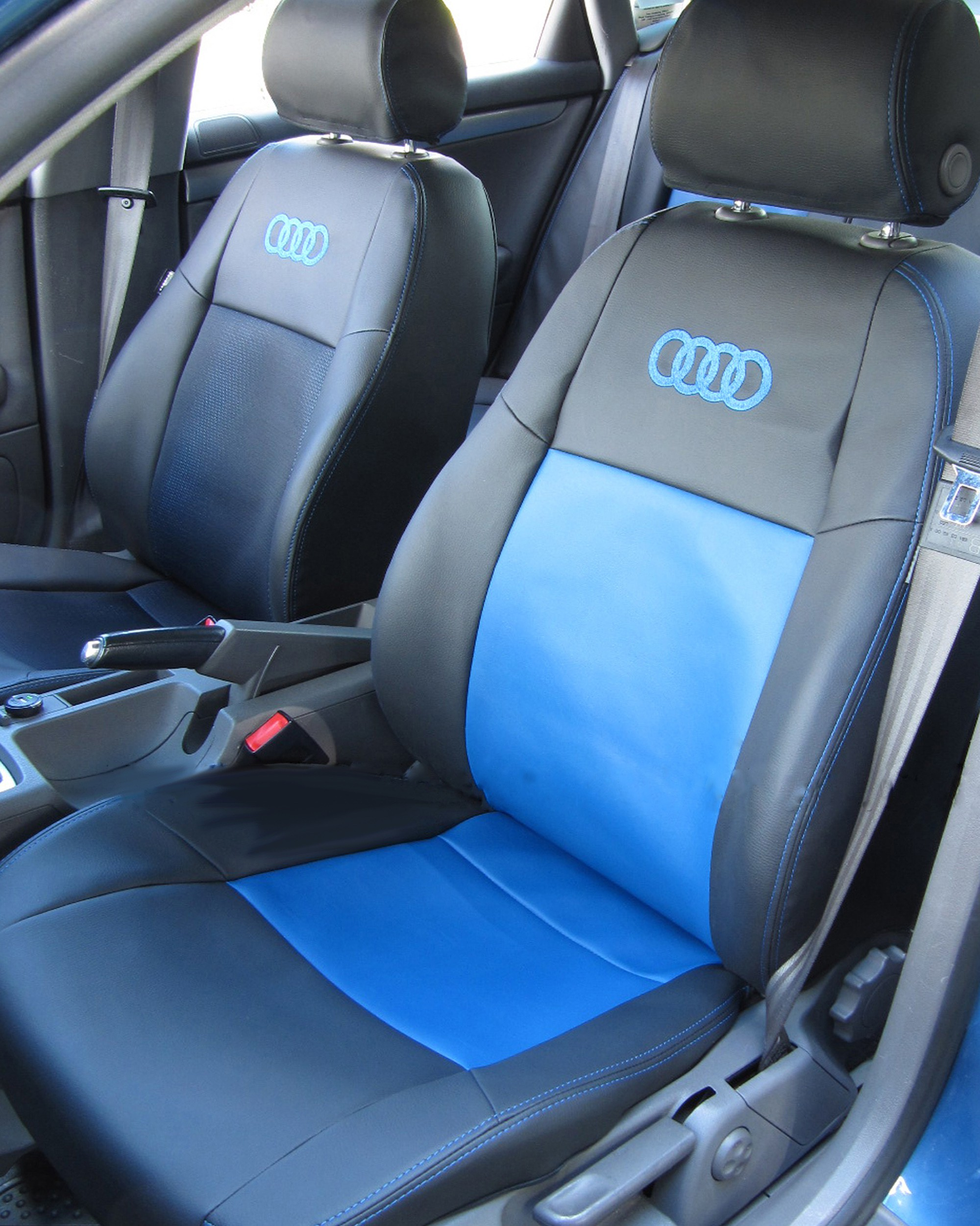 Audi A3 Blue Pass Seat Covers