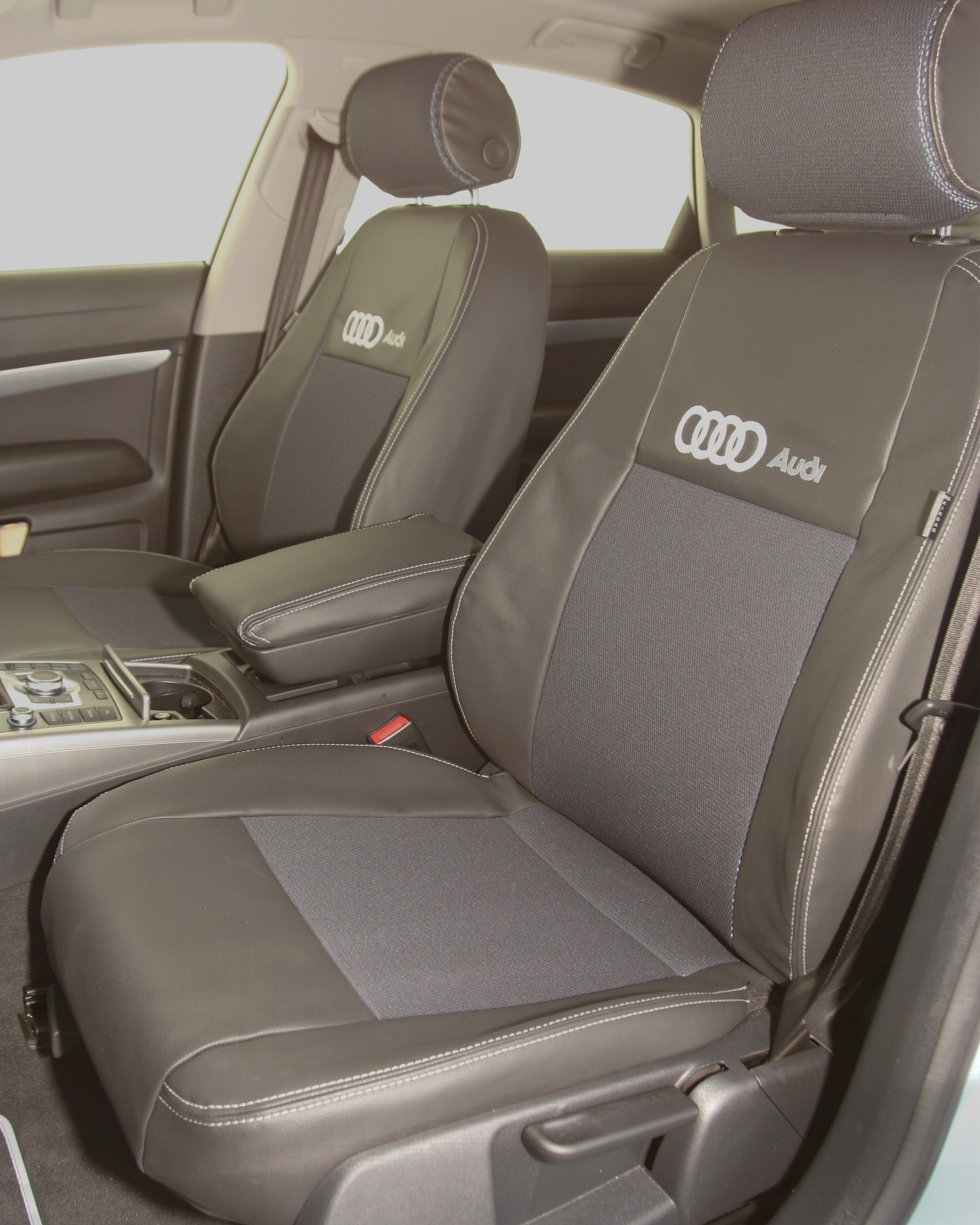 AUDI A6 black seat covers 3RD GEN