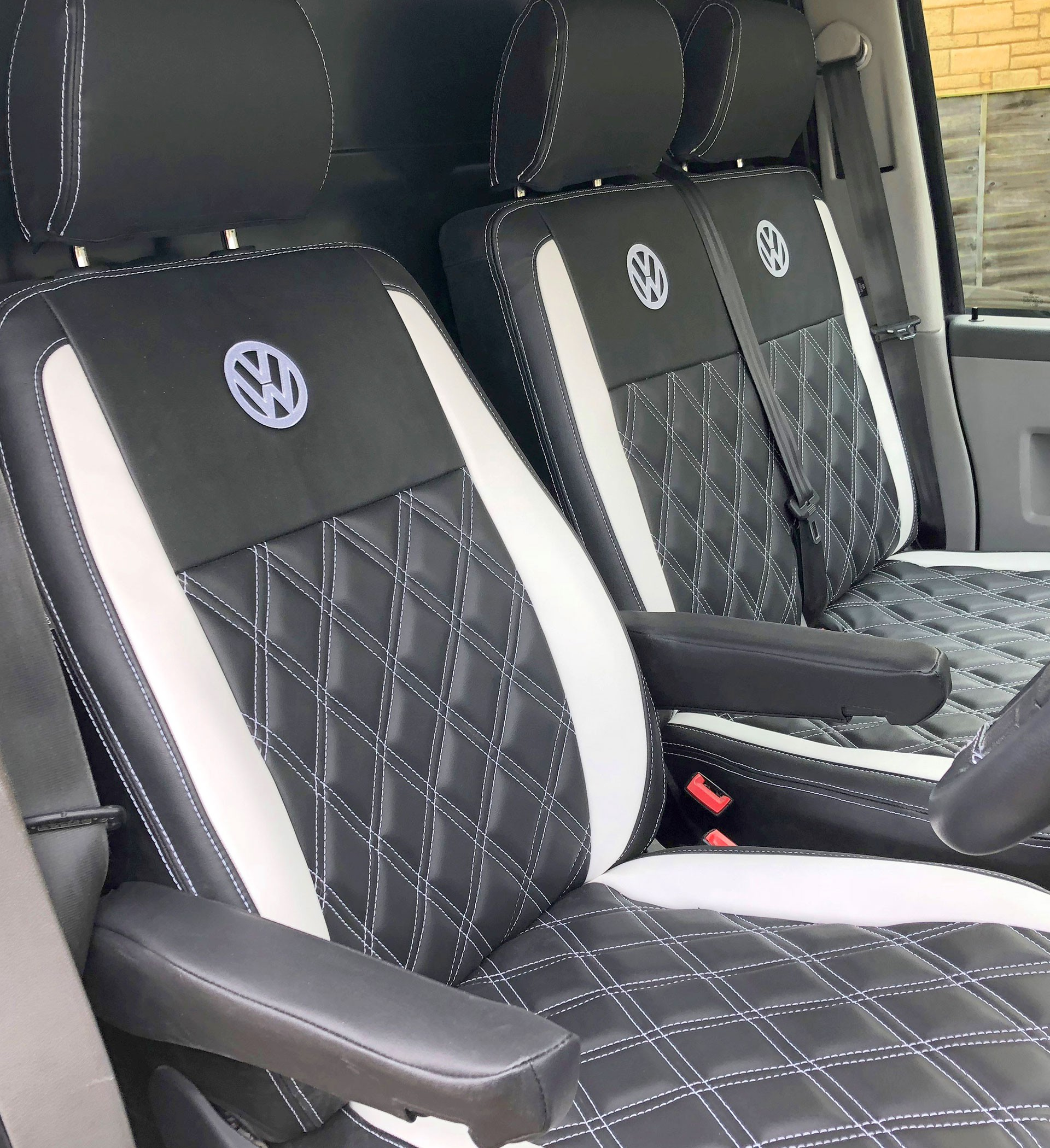 VW Transporter T6 Tailored Van Seat Covers