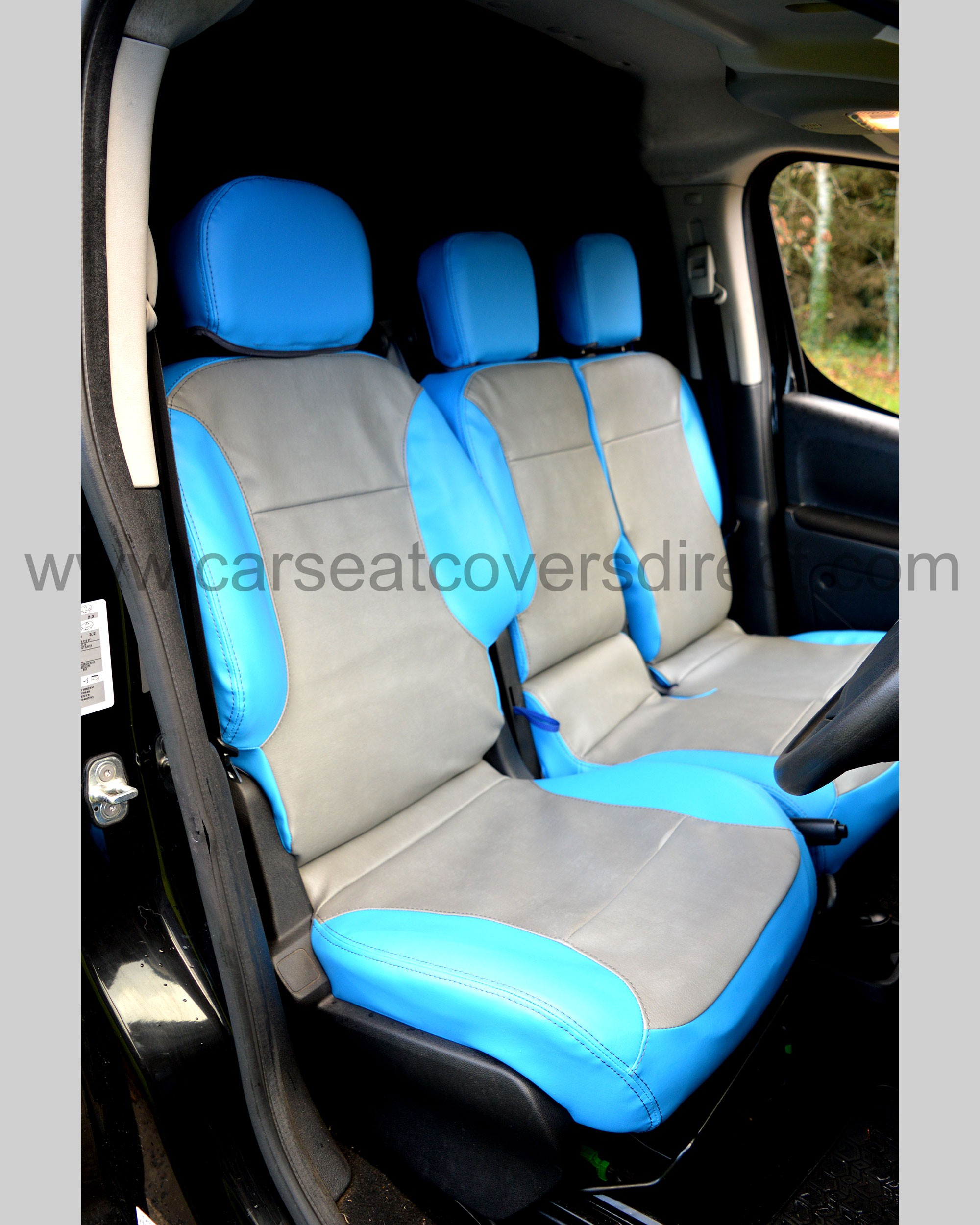 Peugeot Partner Tailored Seat Covers - Drivers seat