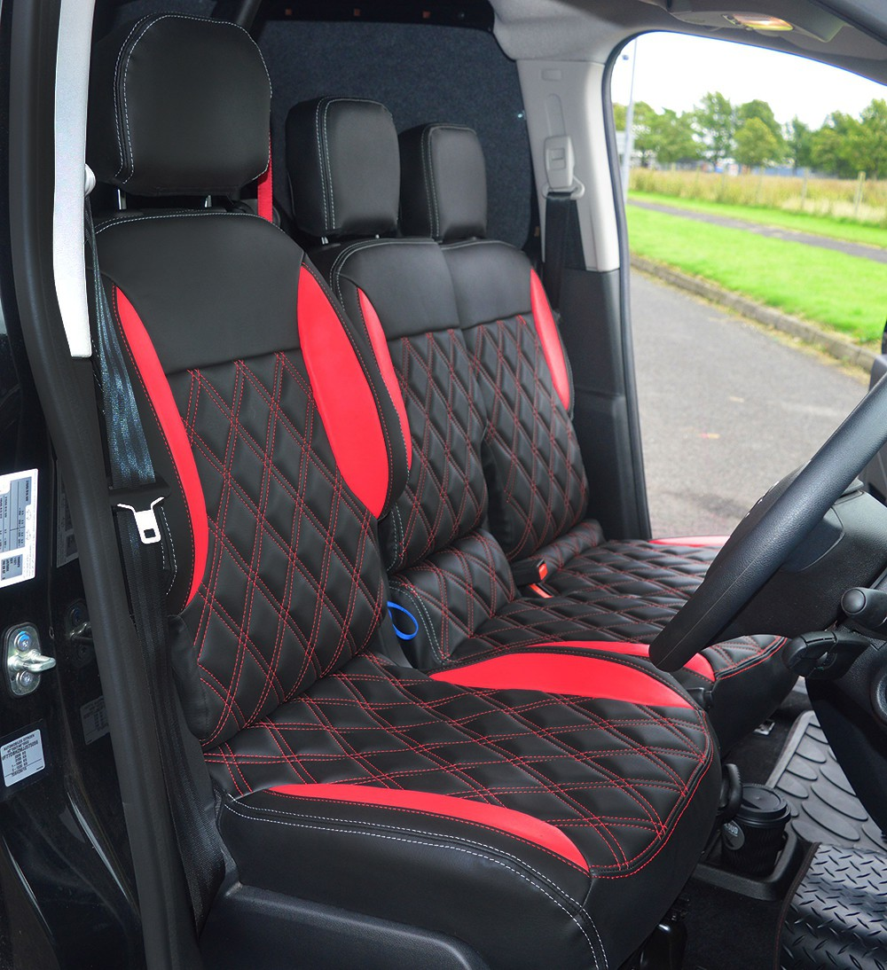 Citroen Berlingo Custom Seat Covers front 2