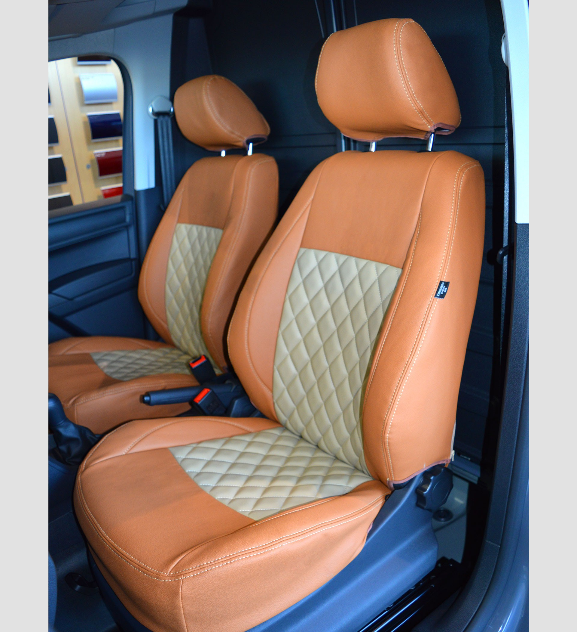 VW Caddy Seat Covers