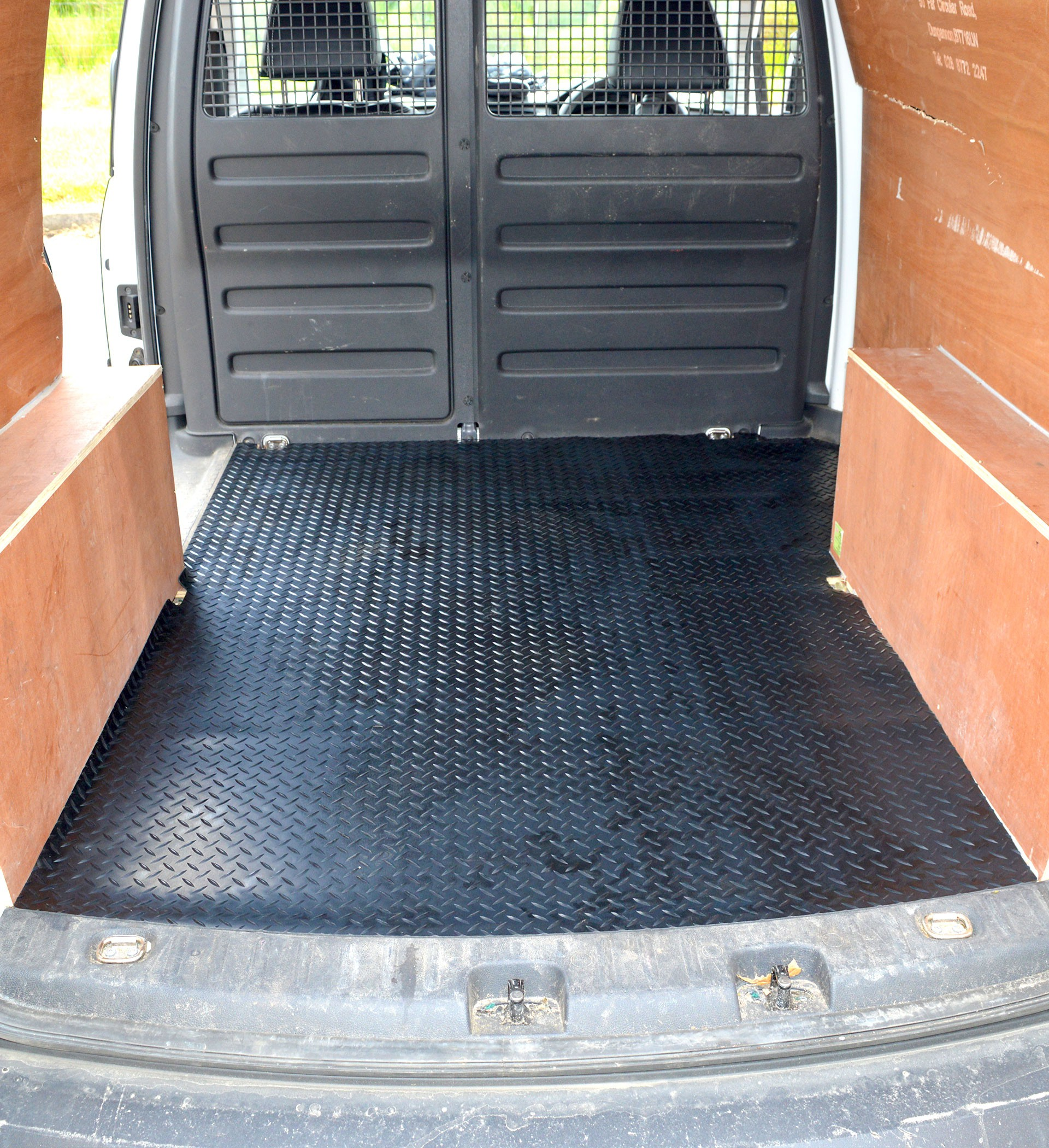 VW Caddy Rear load liner rubber mat