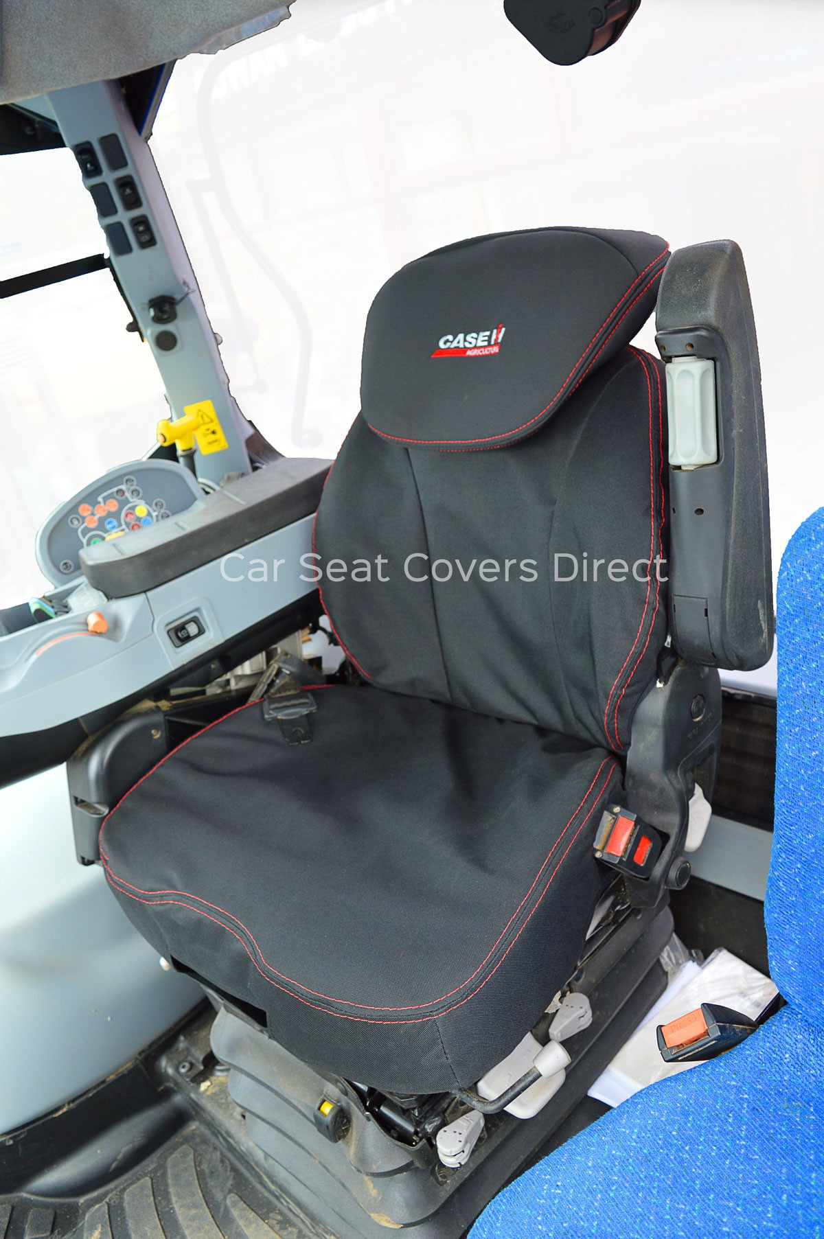 Tractor Seat And Seat Covers : Custom tractor tailored seat covers car direct