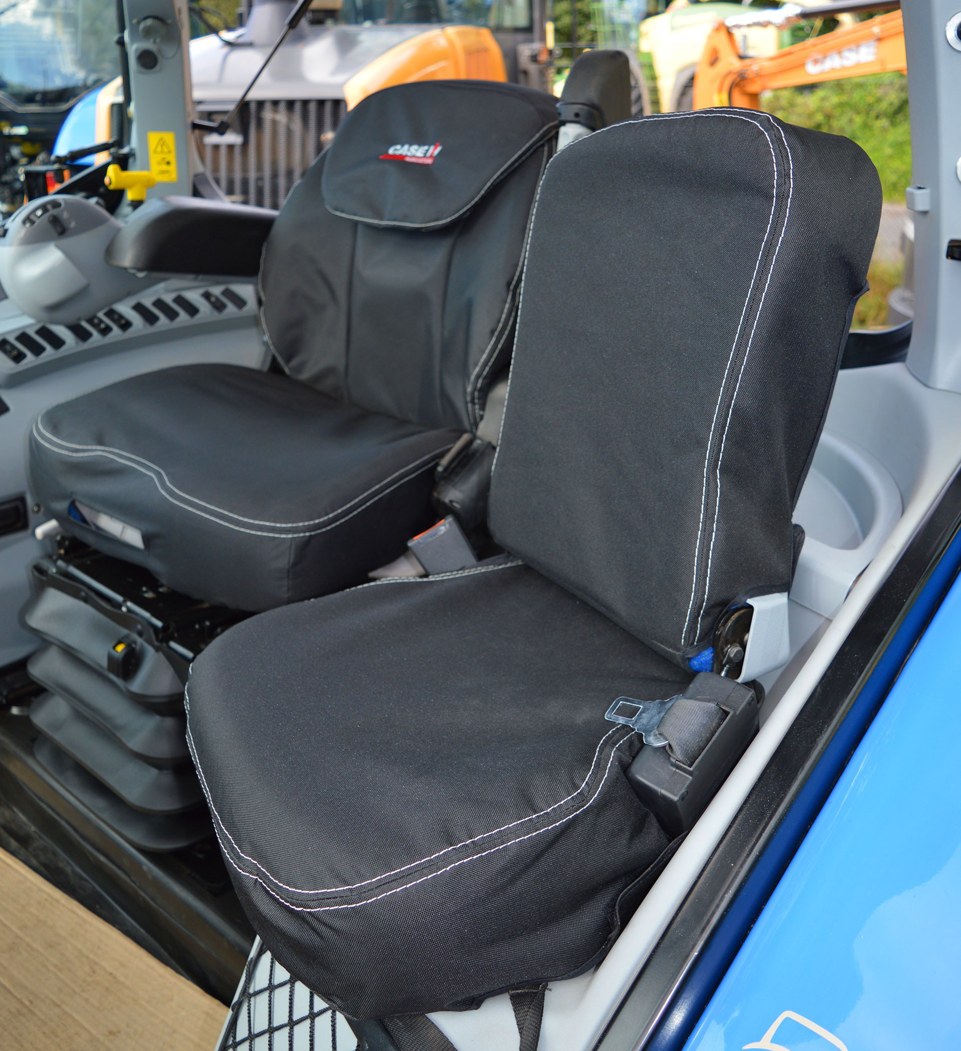 Case waterproof heavy duty seat covers