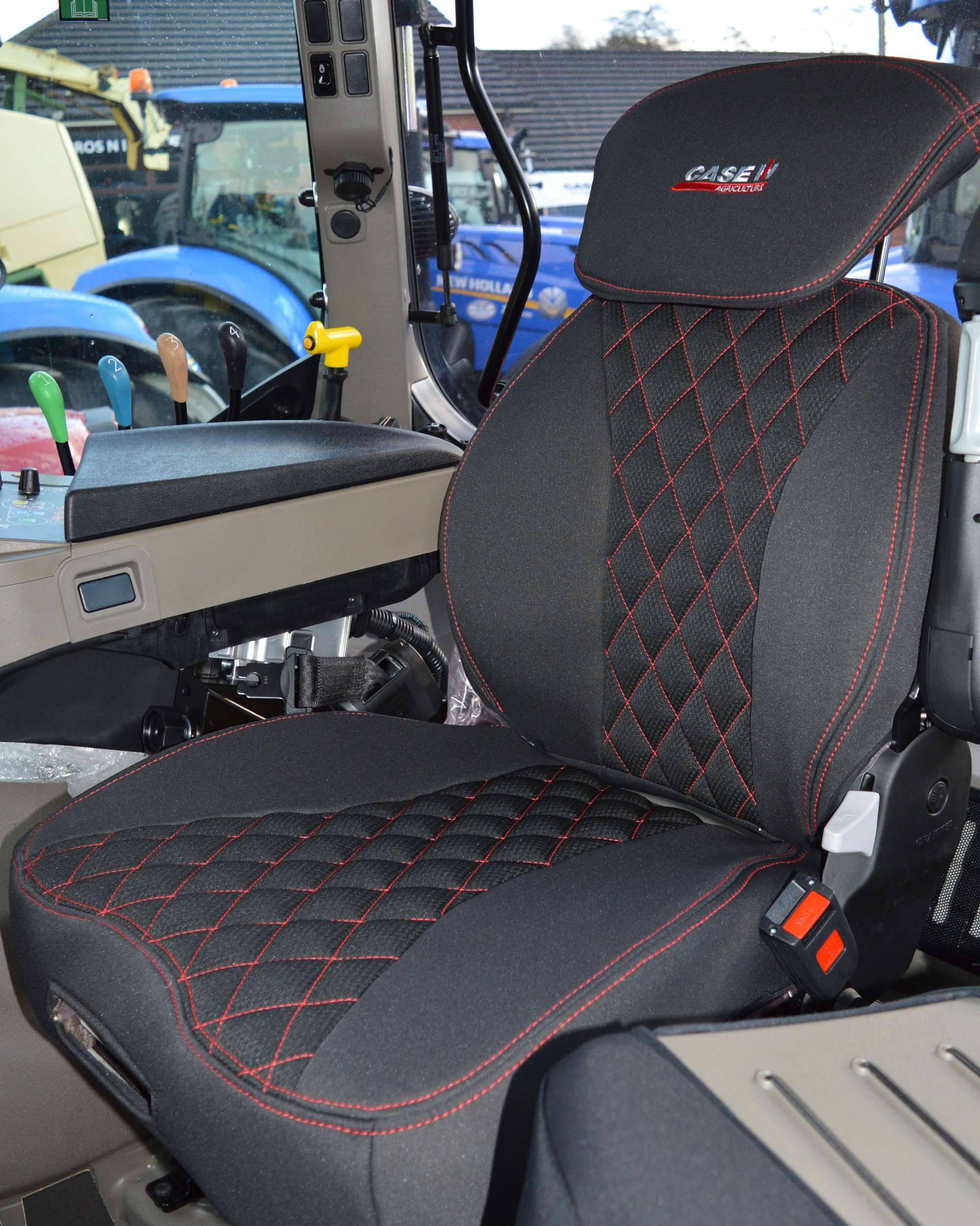 Case IH Tractor Tailored Seat Covers For Grammer Seat