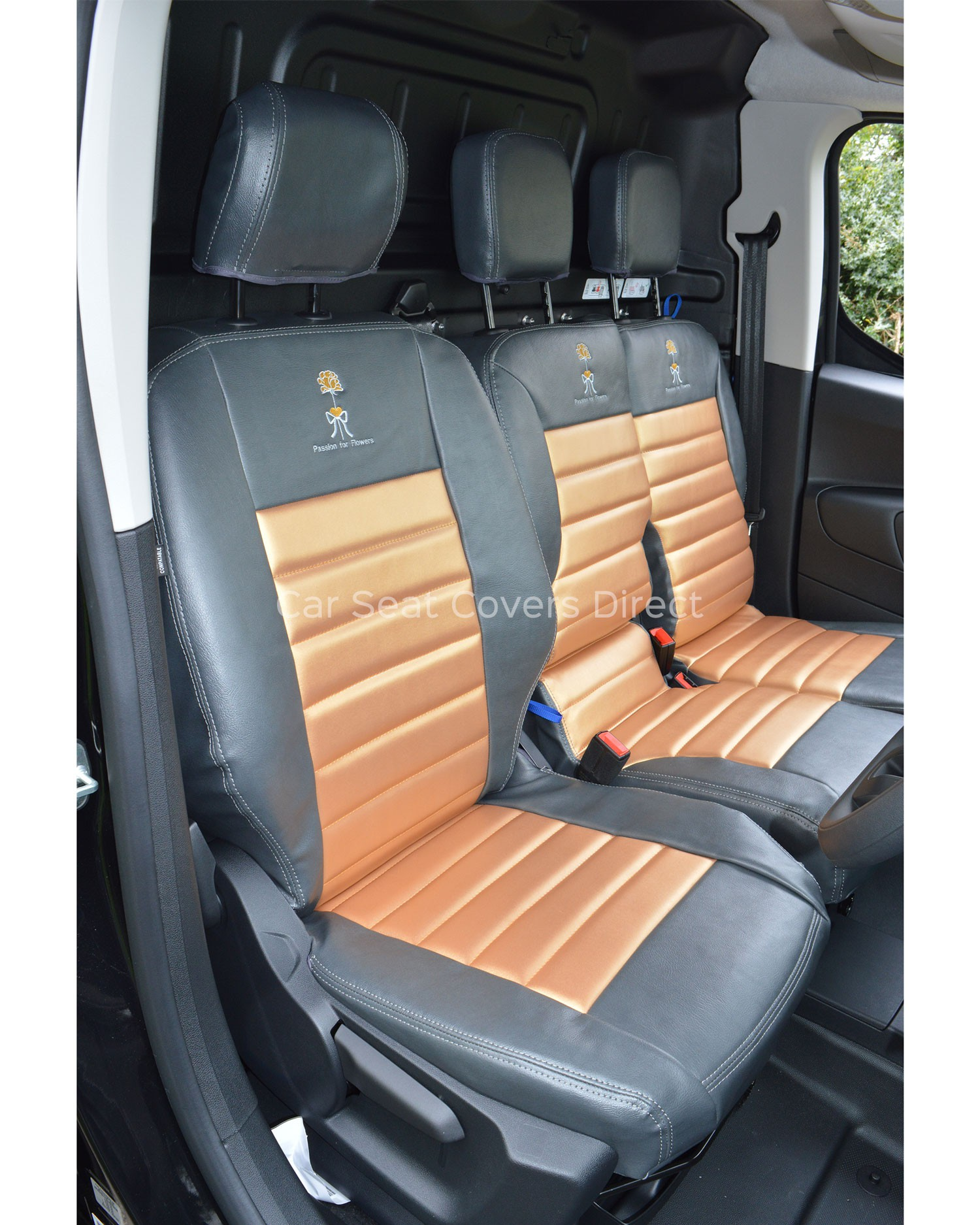 Tailored Seat covers for Citroen Berlingo II front seat  2008-2018