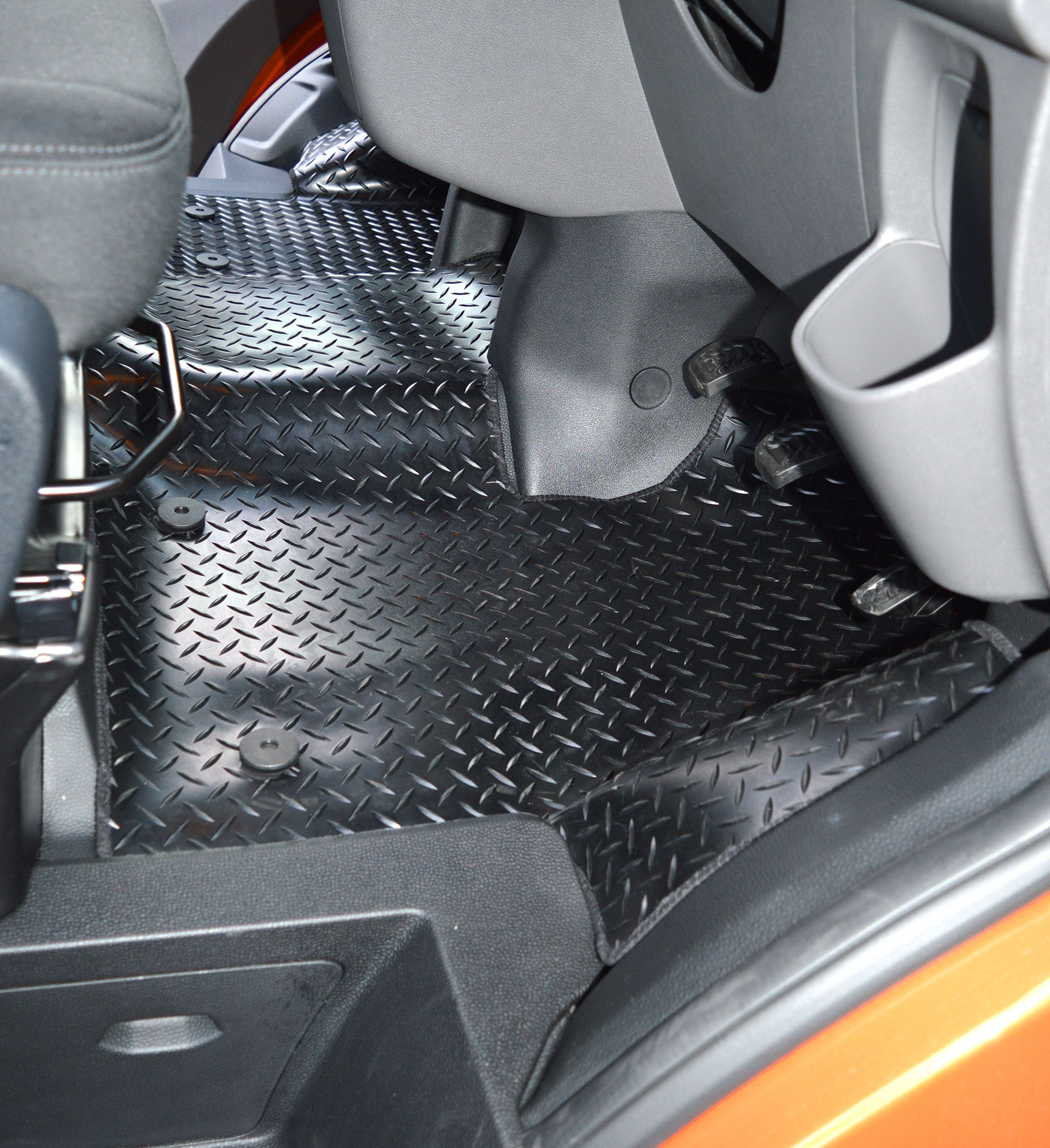 Ford Transit Custom Extra Coverage Rubber Floor Mat