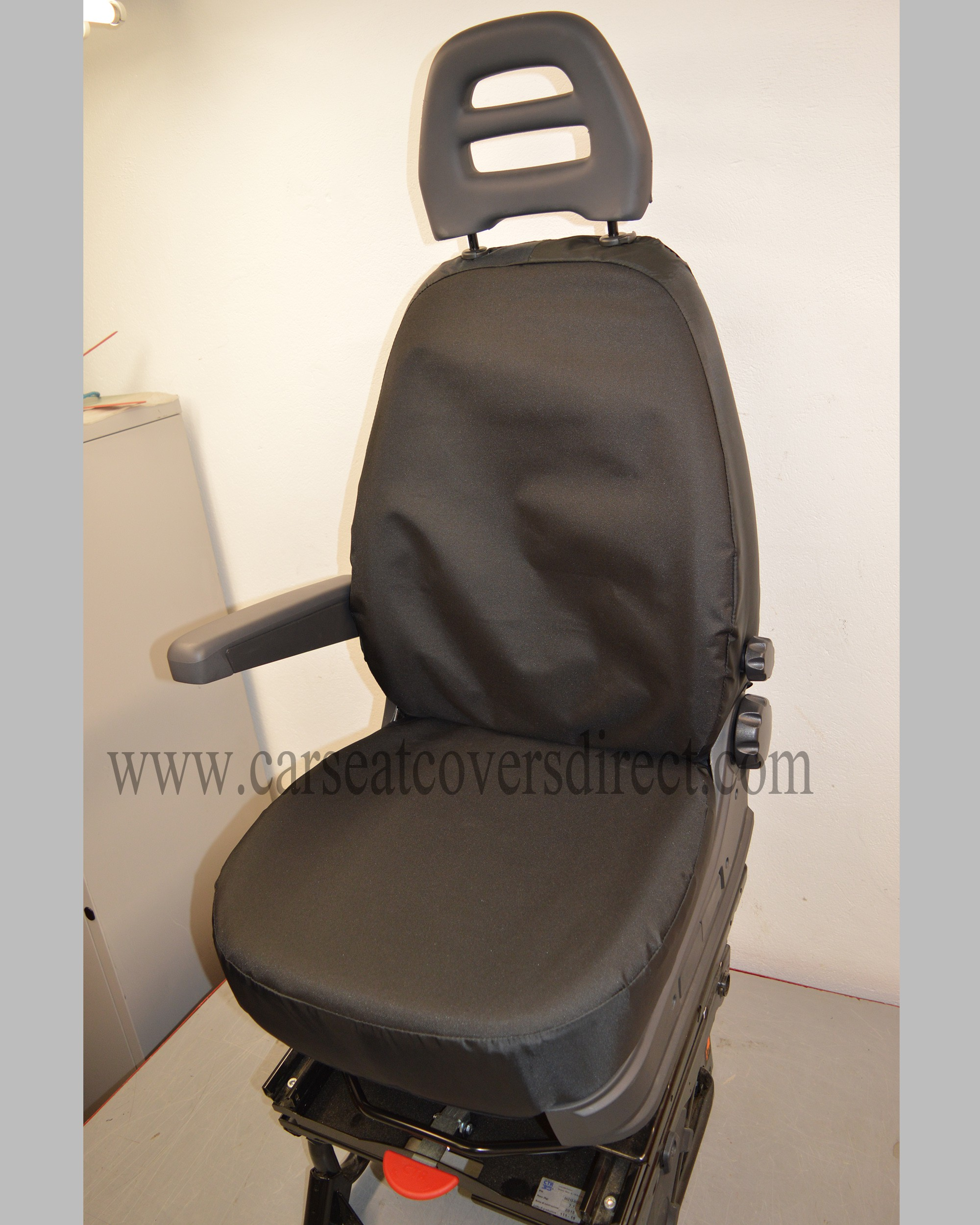 Citroen Relay Extra Heavy Duty Black Seat Covers
