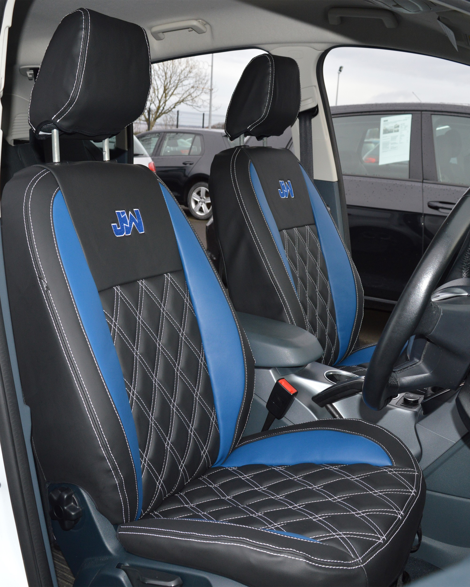 Ford C-Max Waterproof Tailored Car Seat Cover With Diamond Quilting