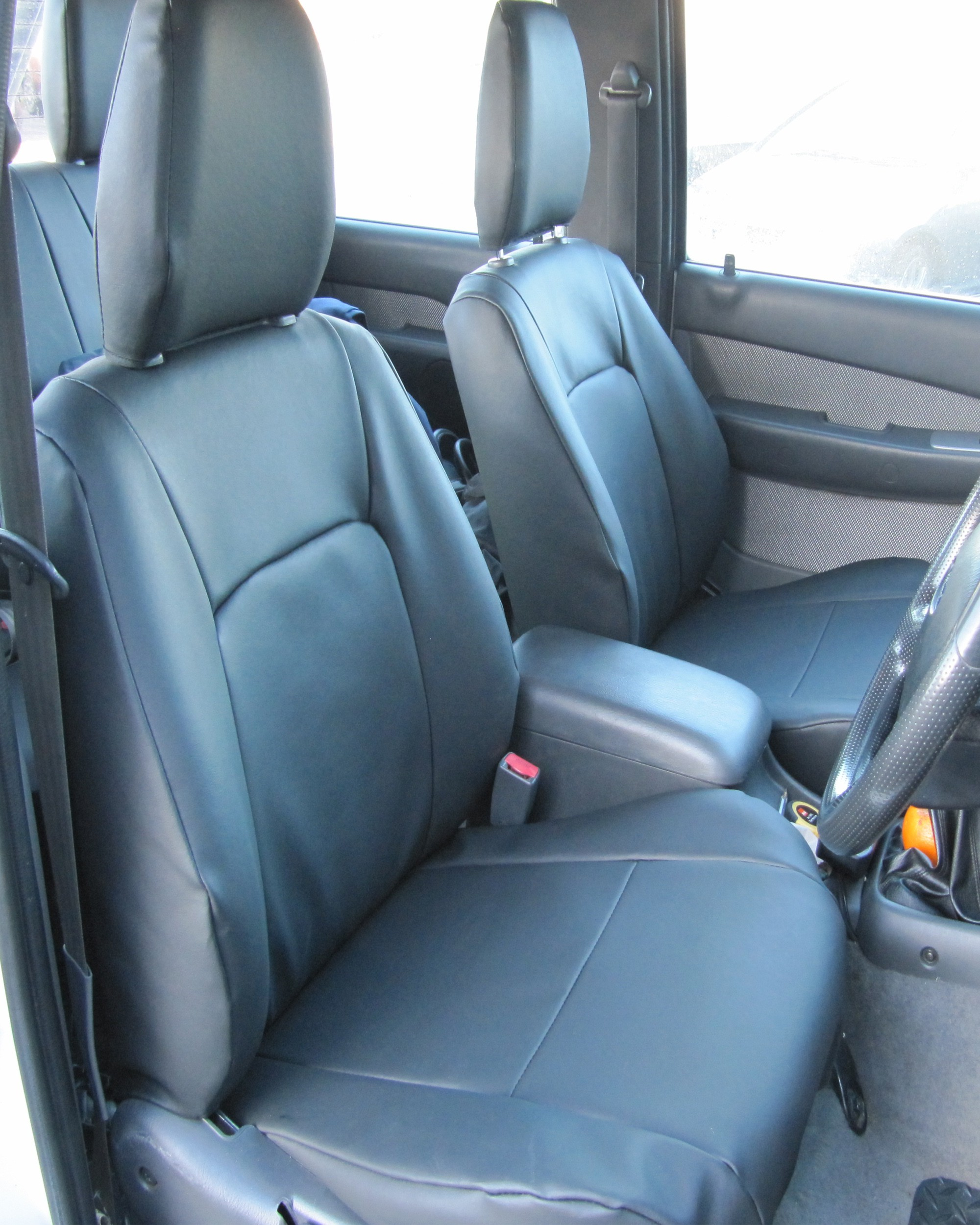 Ford Ranger - Black Leatherette Seat Covers