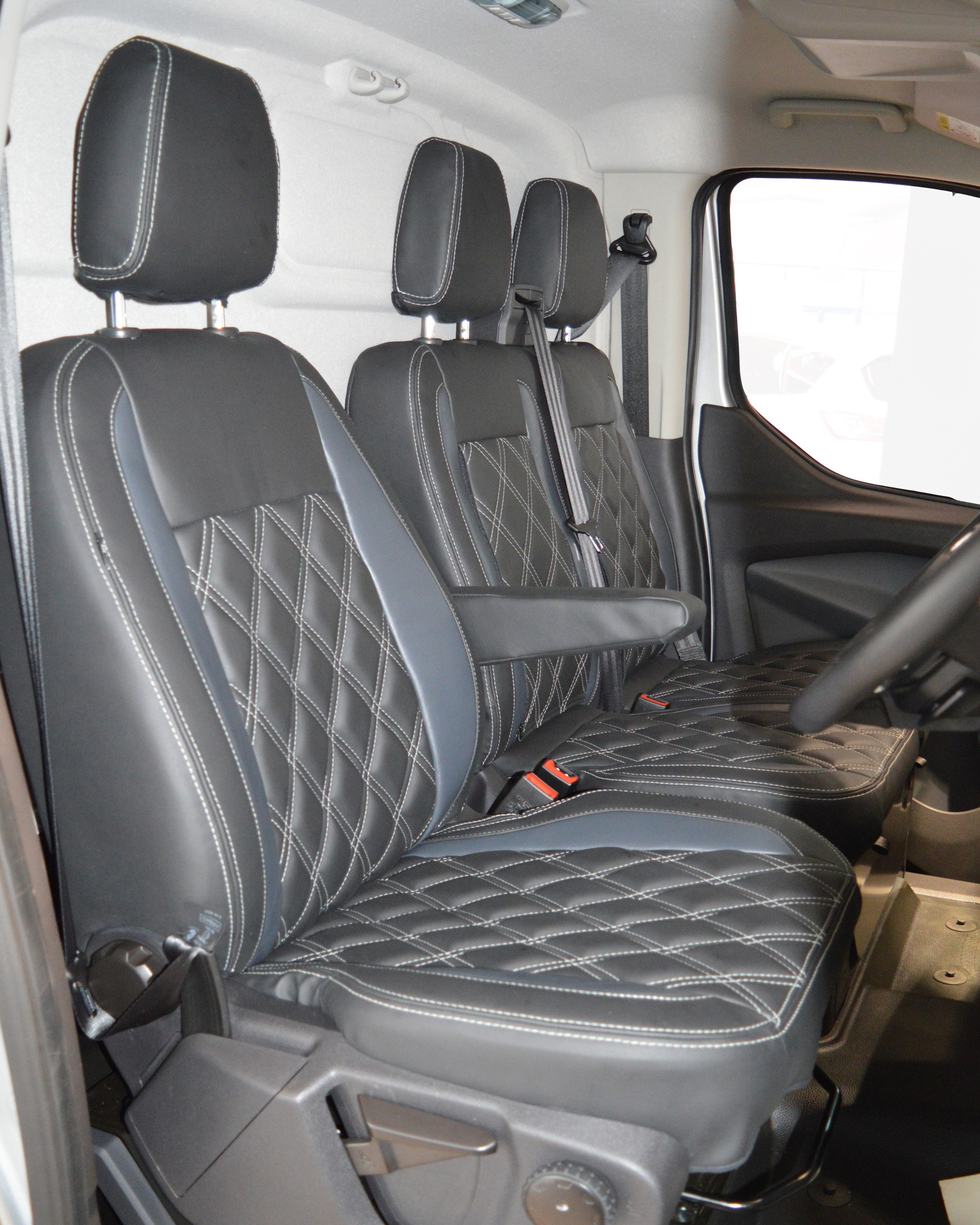 Ford Transit Custom Seat Covers - front seats
