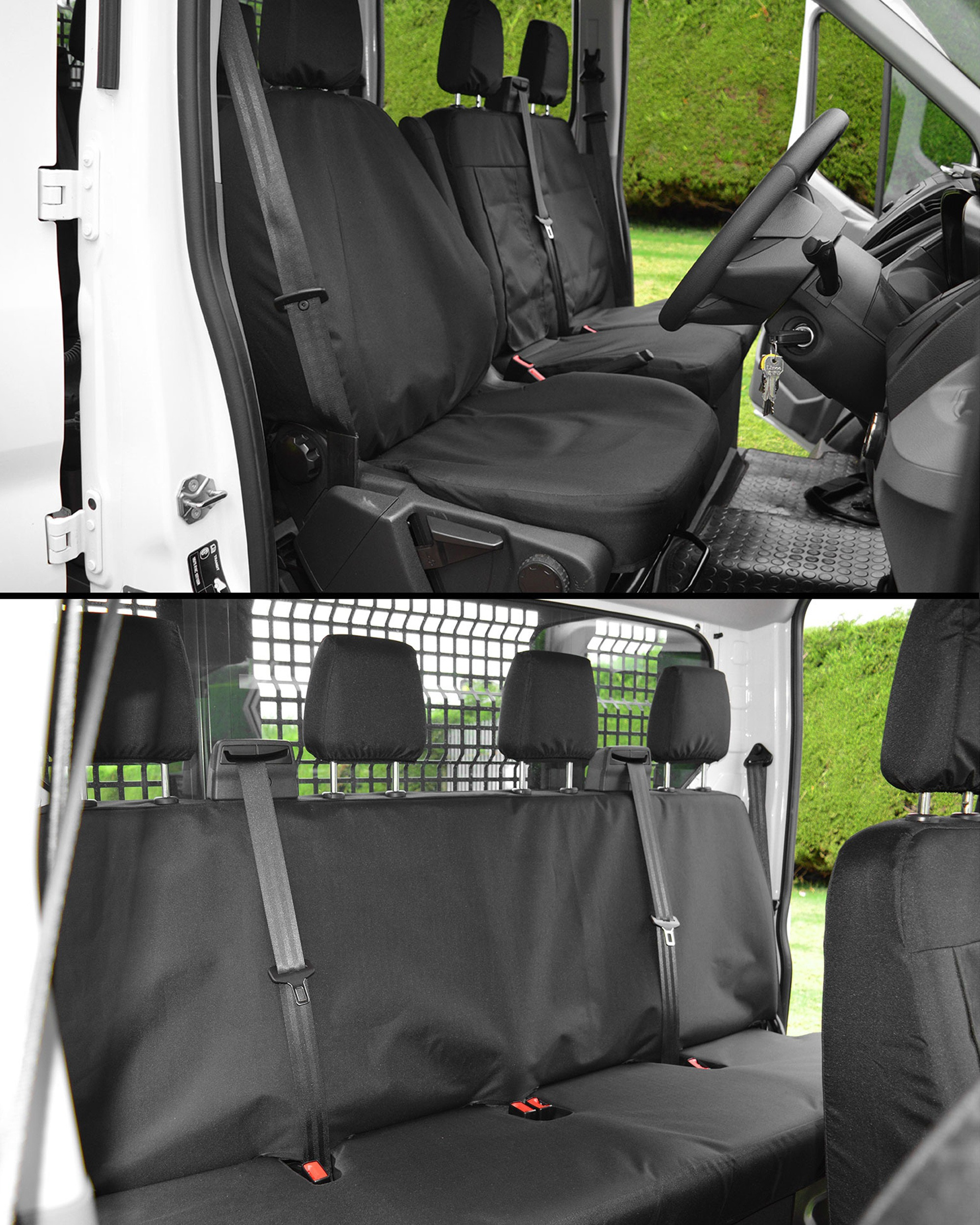 Ford Transit Tipper Tailored Heavy Duty Seat Covers