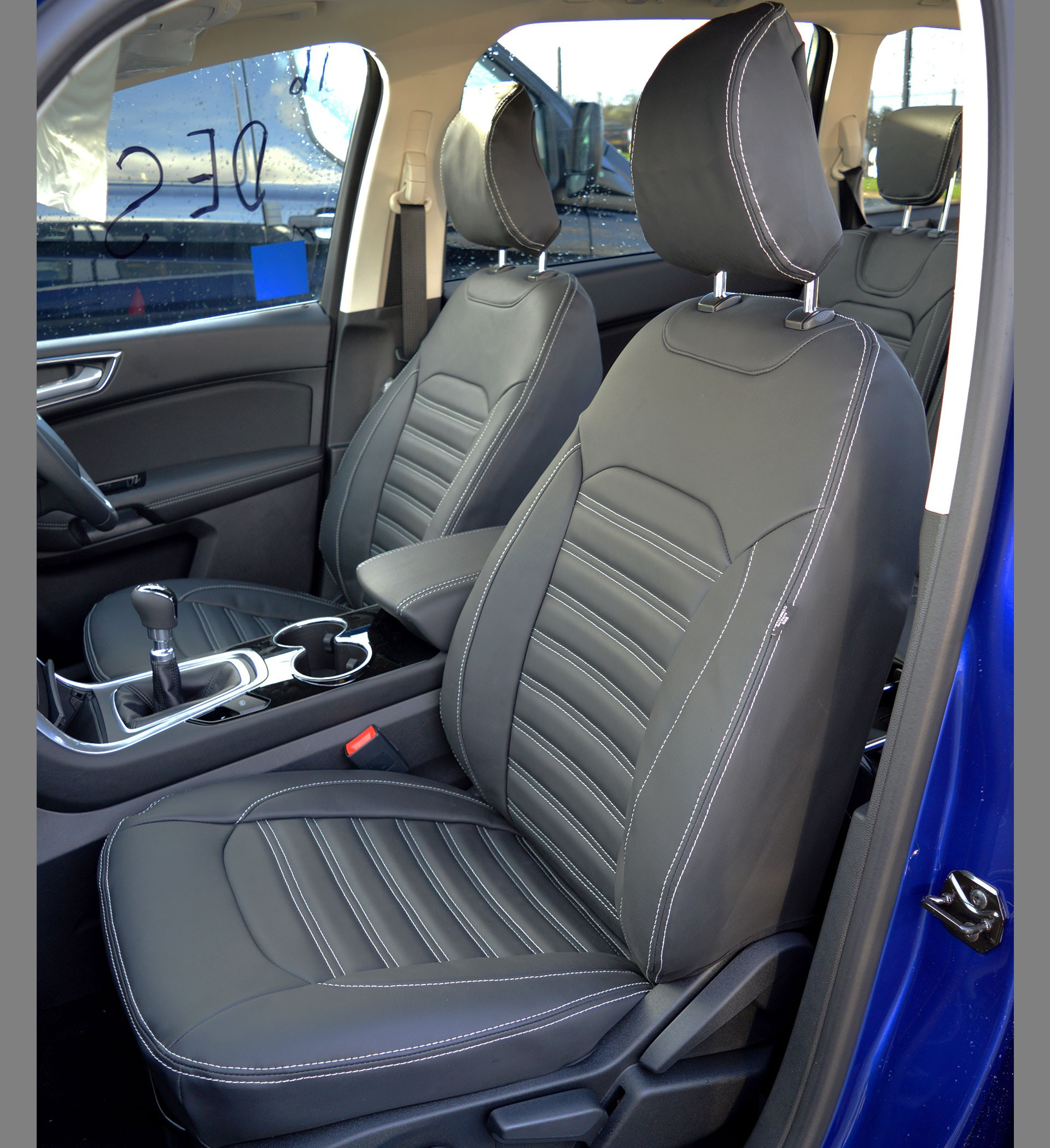 Ford Galaxy 7 seater MK3 3rd Gen Tailor Quilted Seat Covers (2015-Present)