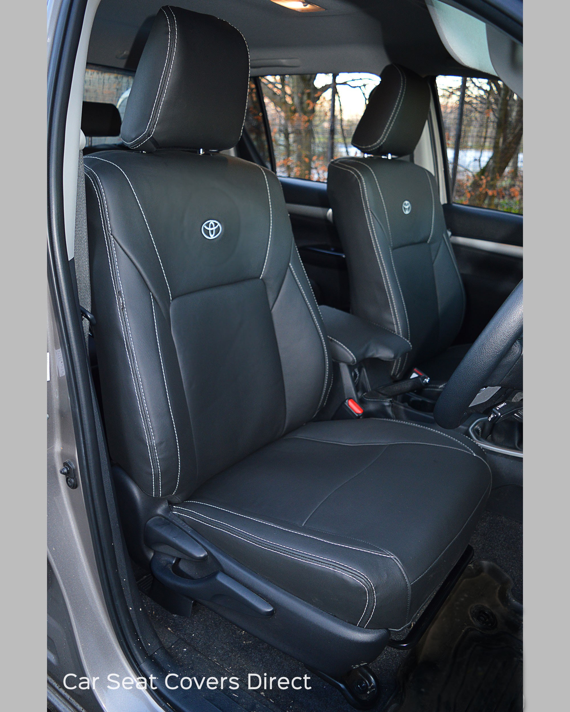 Toyota Hilux Seat Covers Drivers Seat