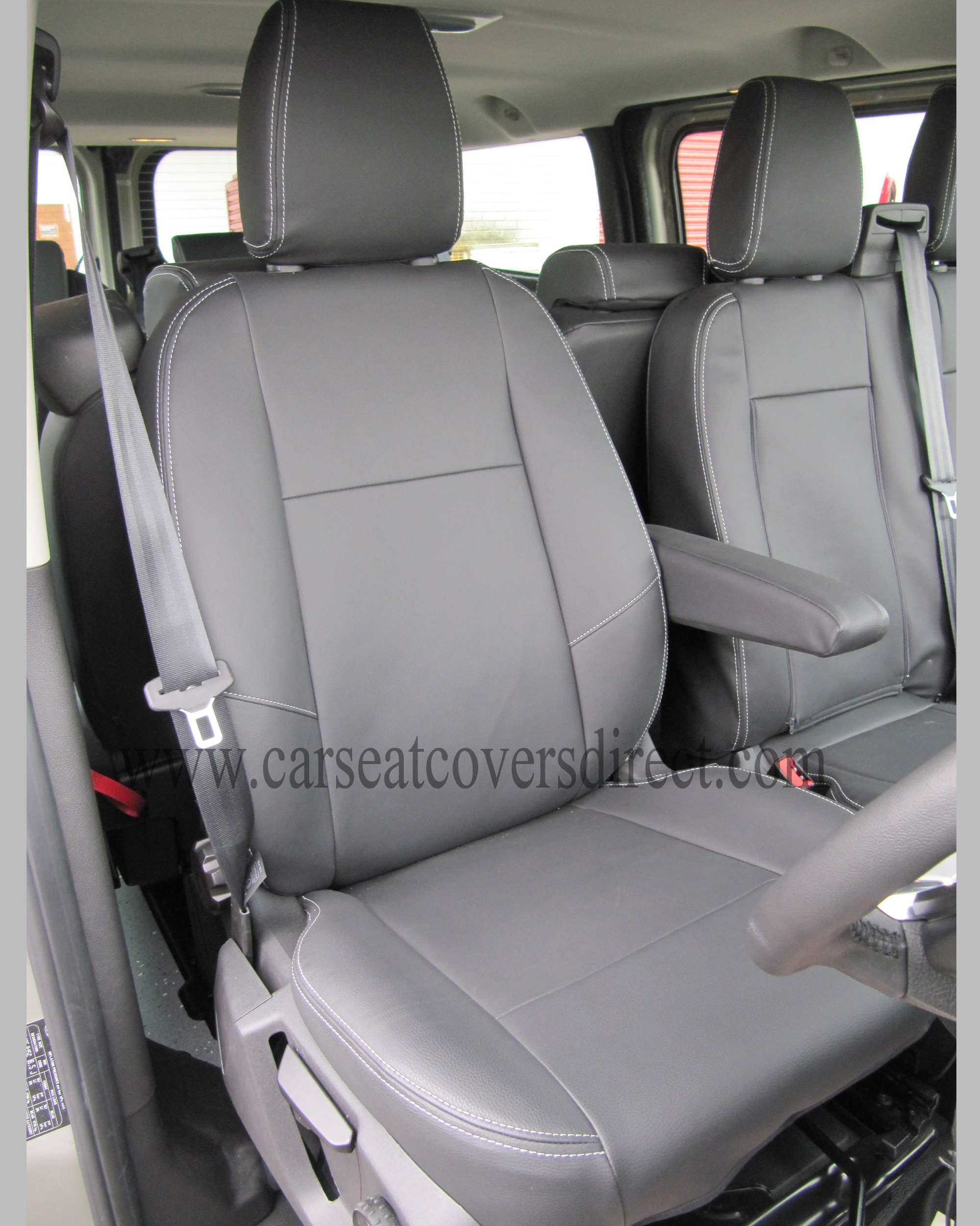 Ford Transit Custom Tourneo Tailored Foam Backed Seat Covers