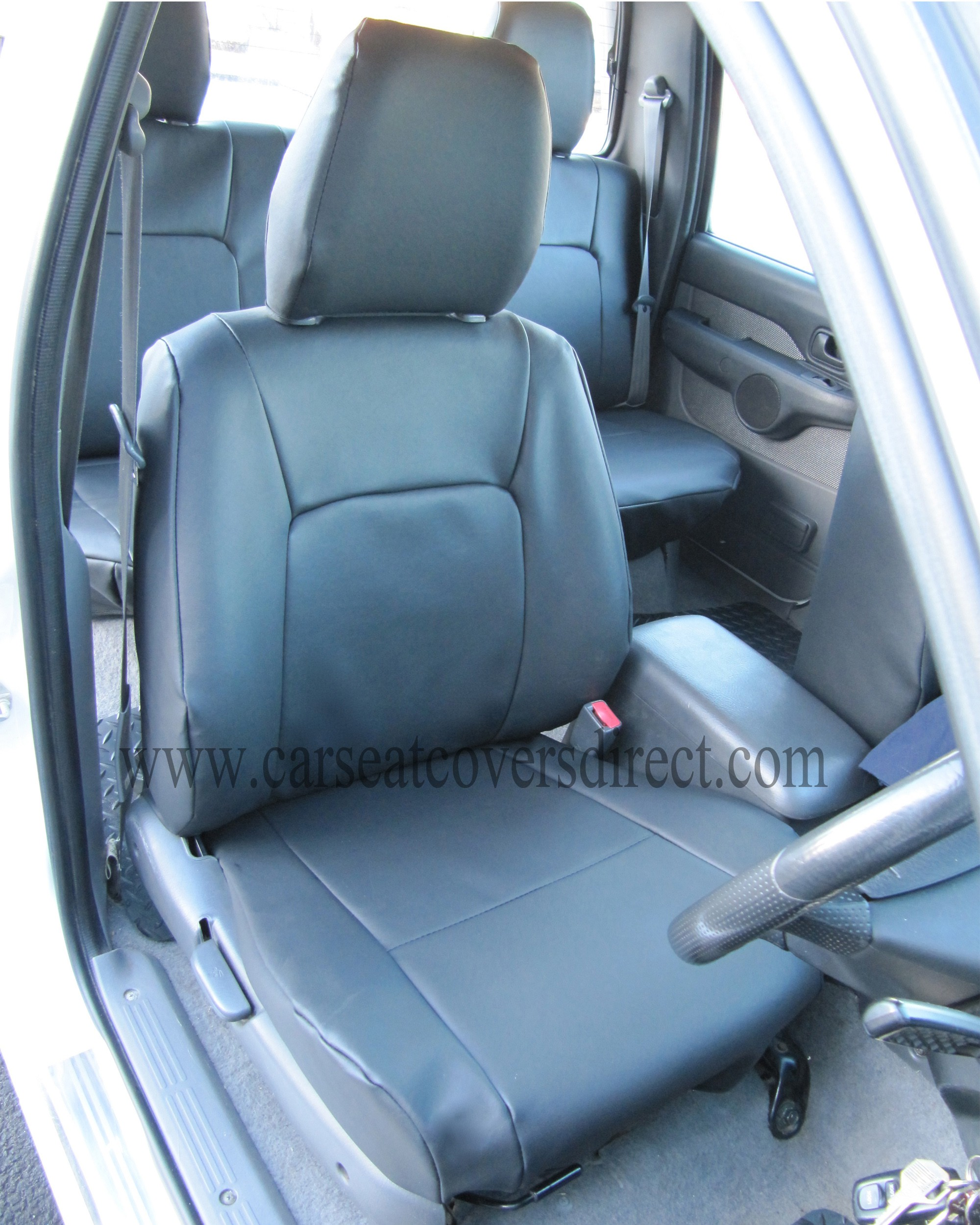FORD RANGER black seat covers_1
