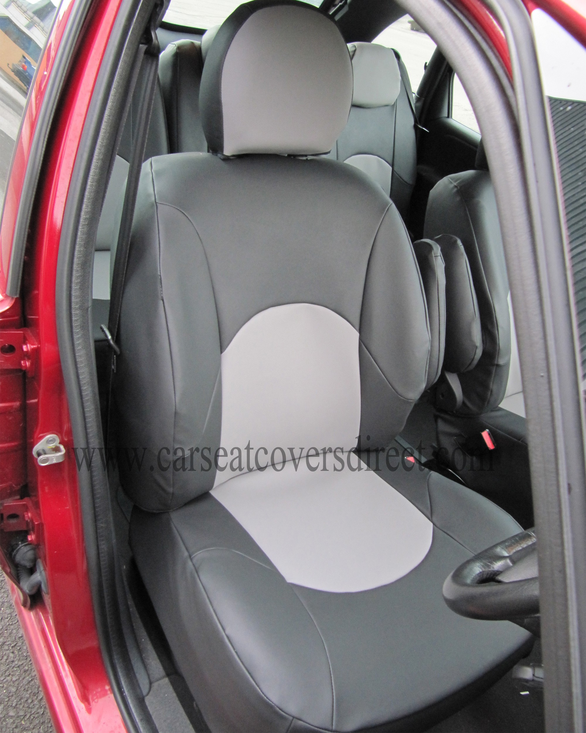 CITROEN XSARA PICAS Black & Grey Seat Covers