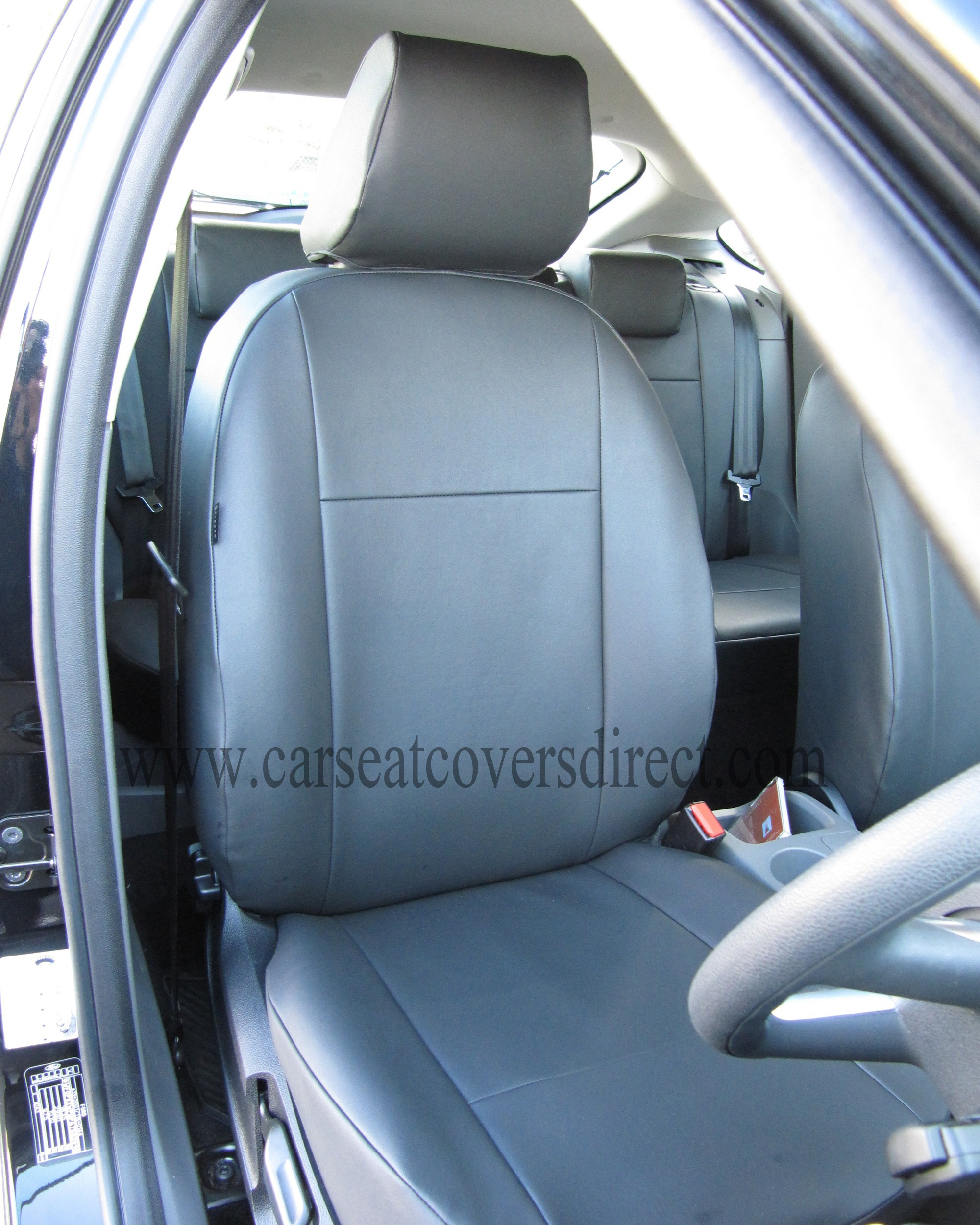 Ford Focus front seat with seat cover