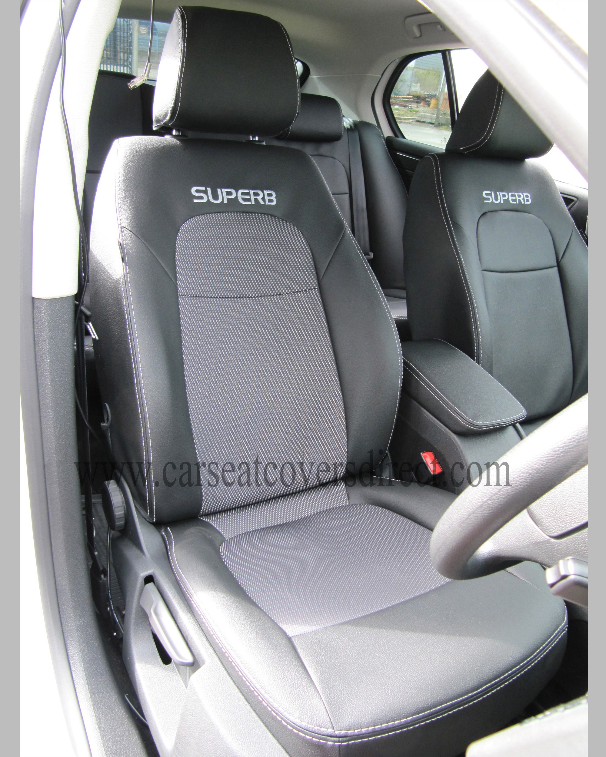 SKODA SUPERB 2ND GEN Taxi Pack Seat Covers