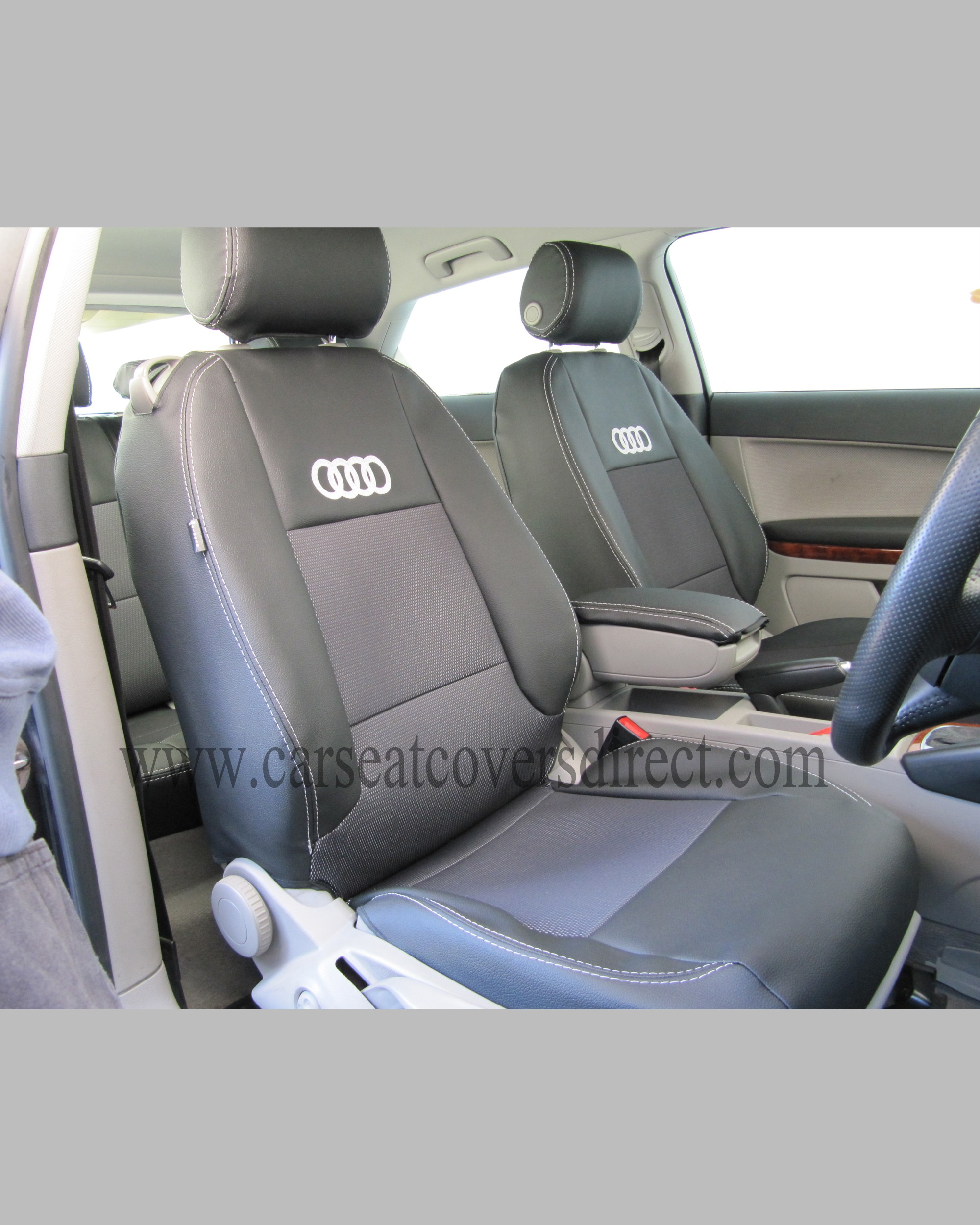 Audi A3 Seat Covers - Black  - 1st Generation_4