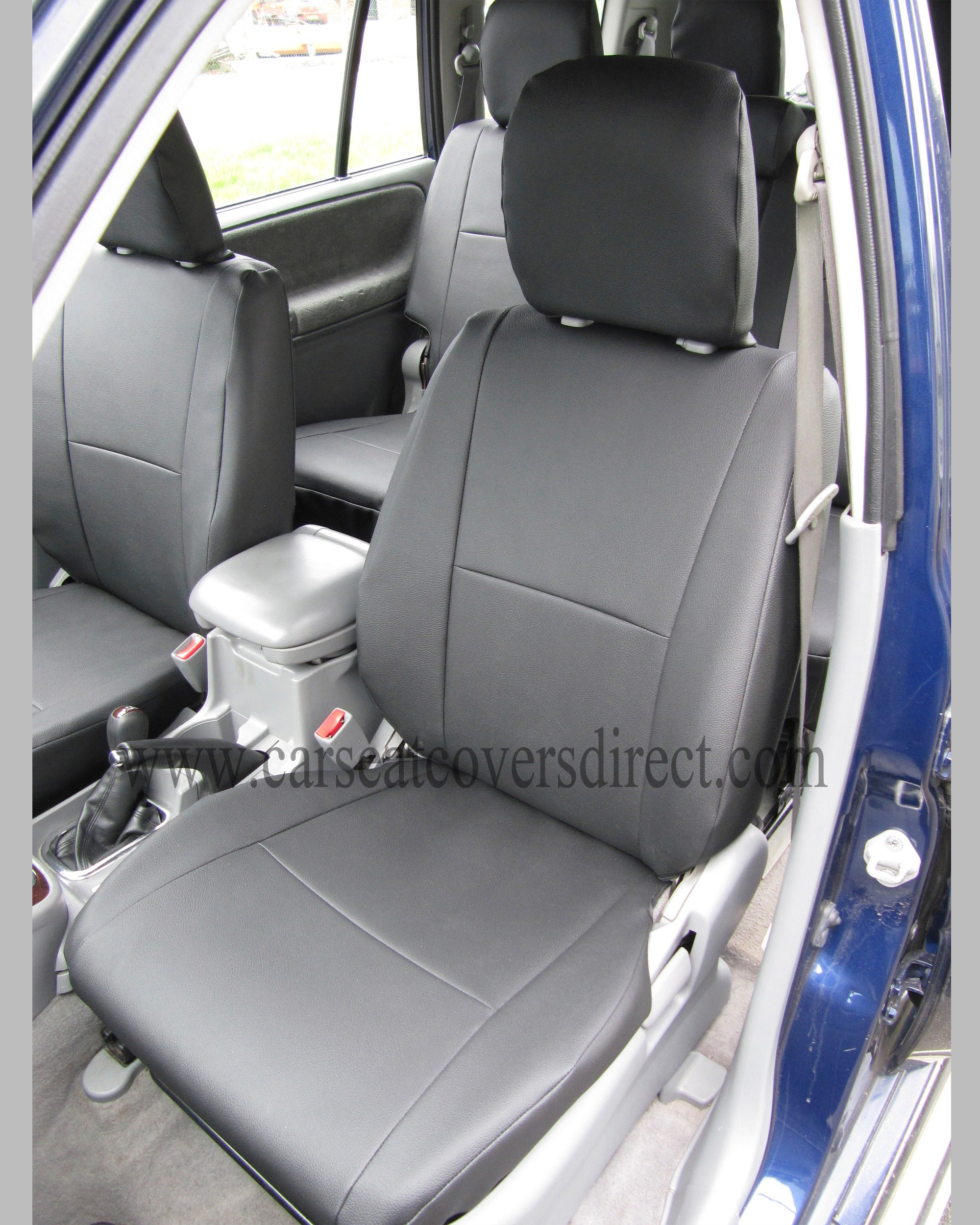 SUZUKI GRAND VITARA 2ND GEN Black Seat Covers