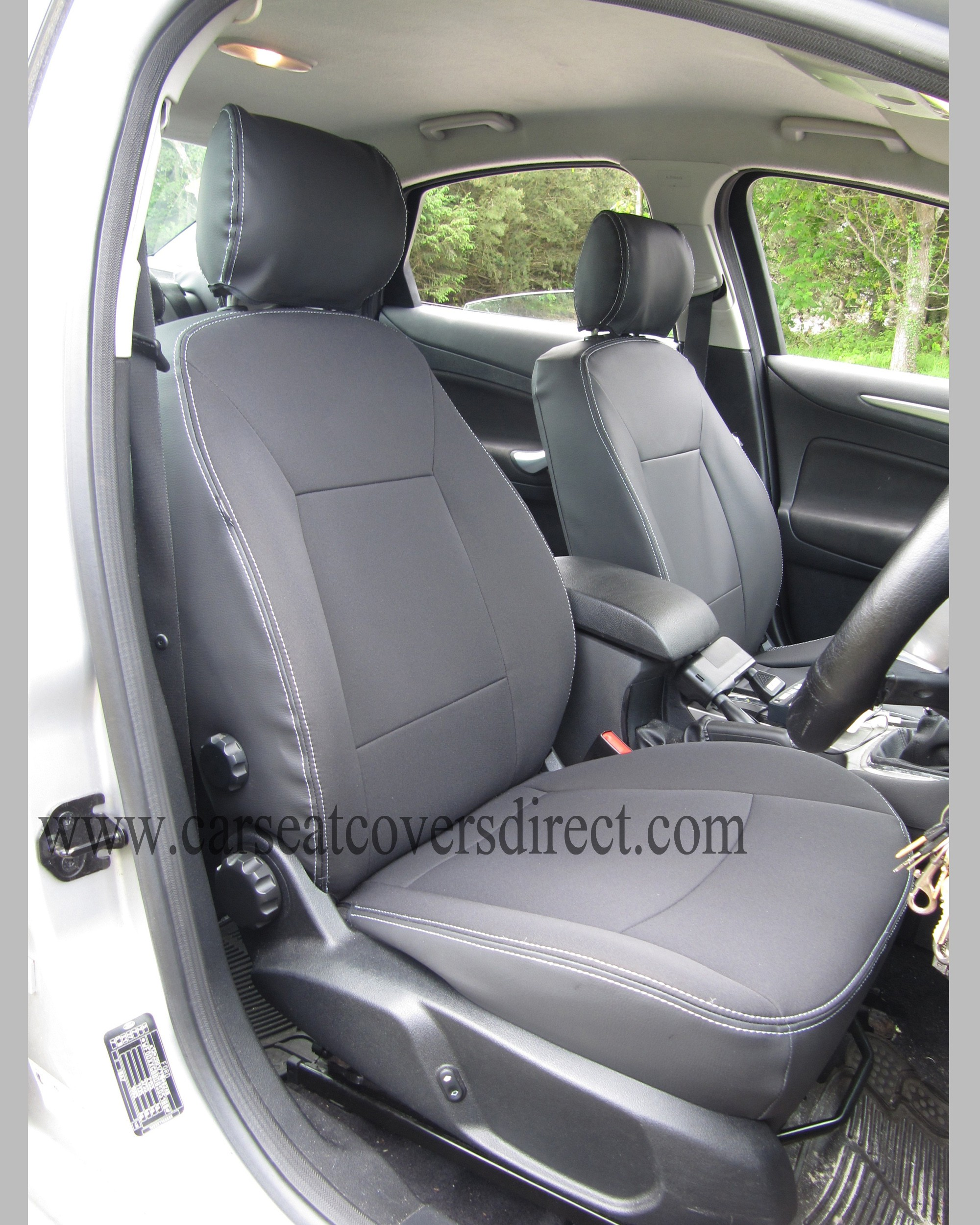 FORD MONDEO 4TH Gen Black Leatherette