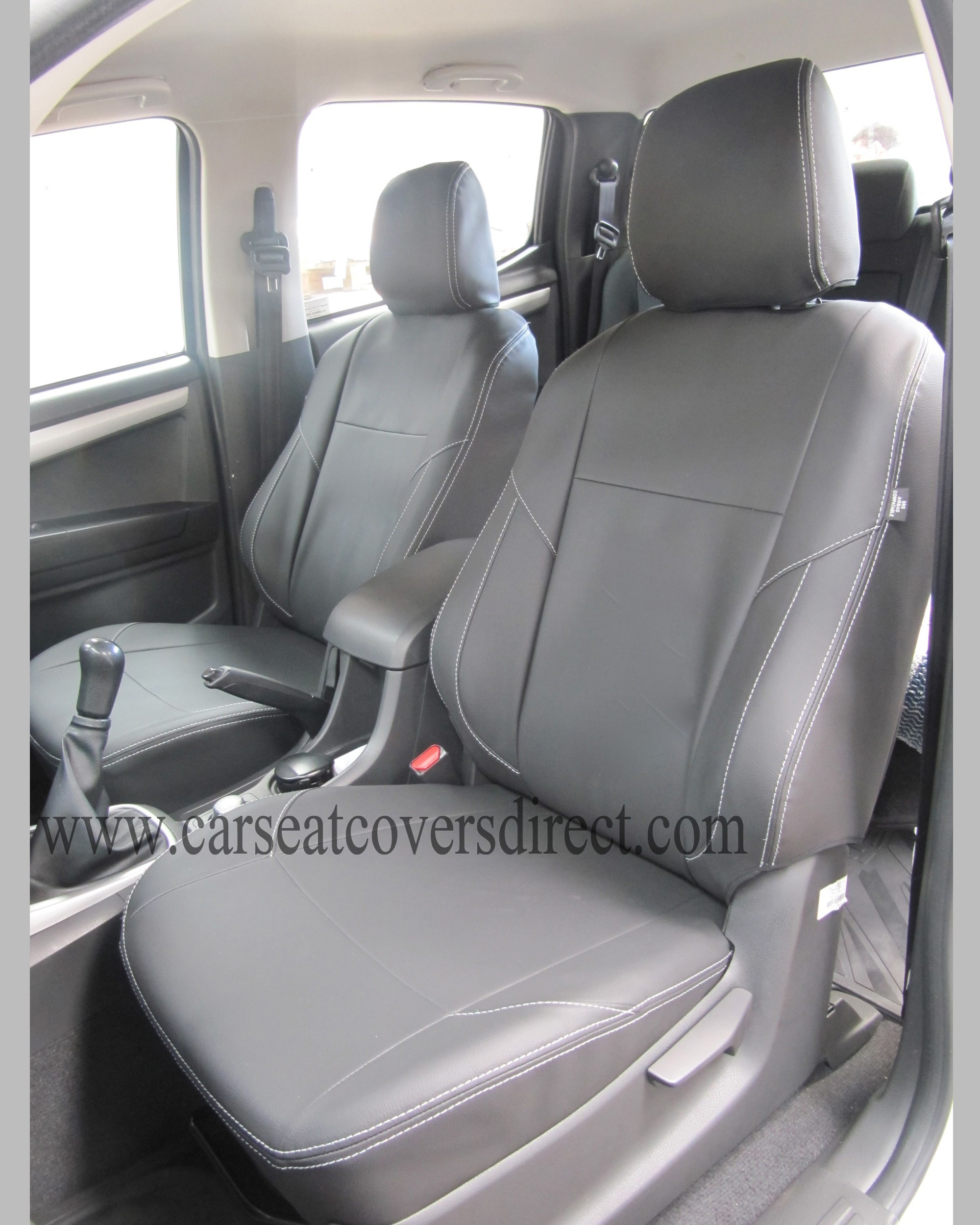 Custom ISUZU D-MAX 2ND GEN seat covers