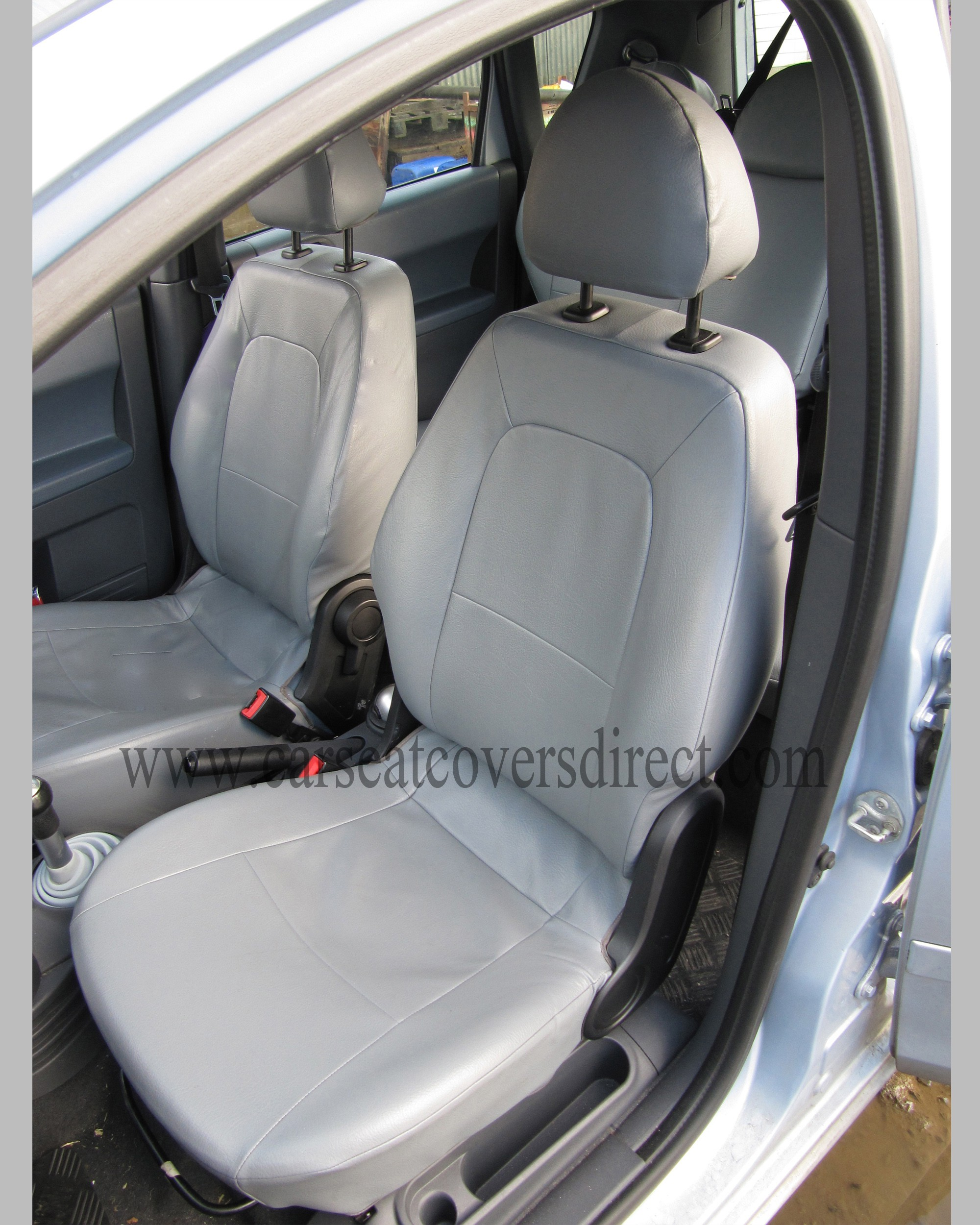 MITSUBISHI COLT 7TH GEN Grey Seat Covers