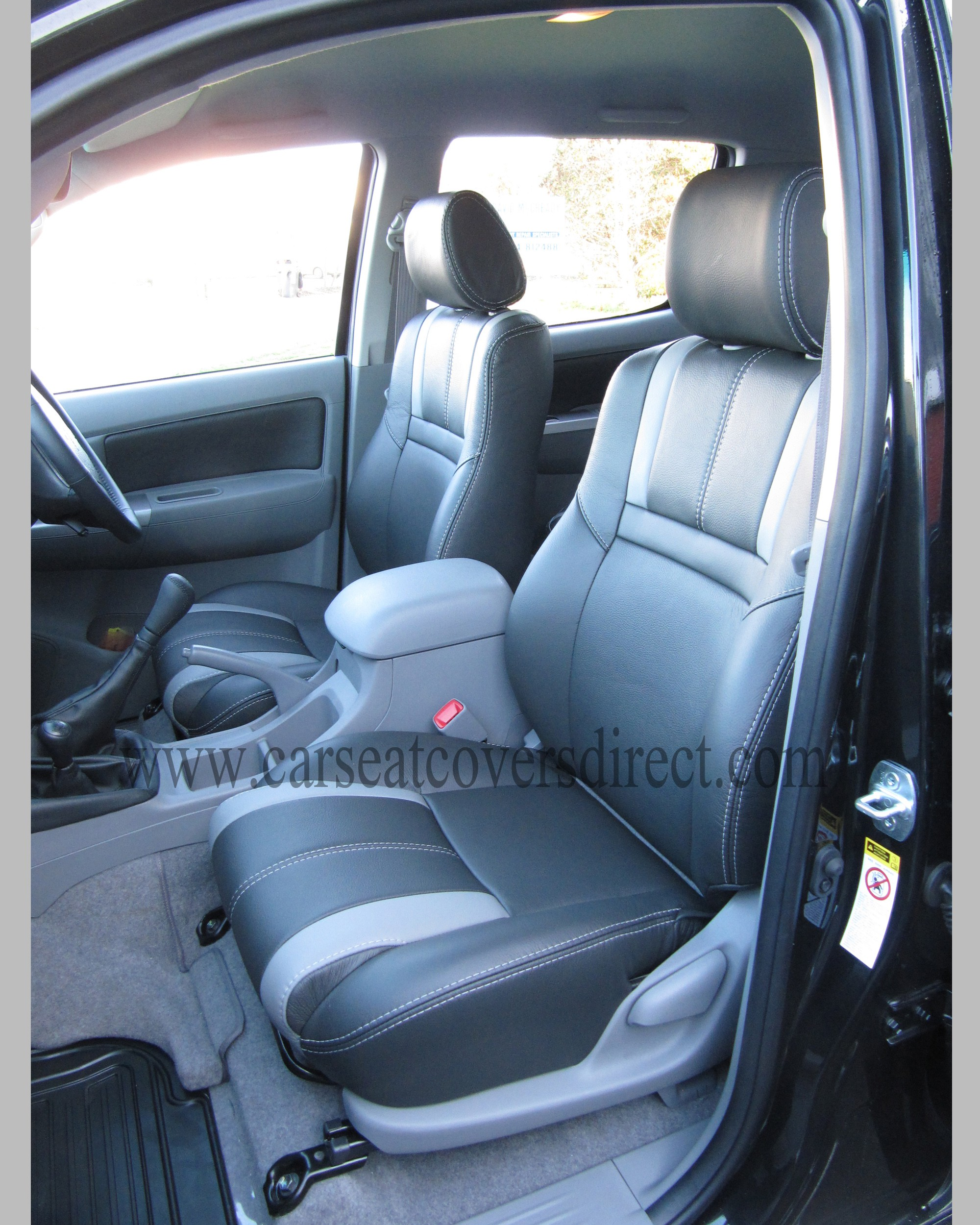Toyota hilux invincible leather retrim
