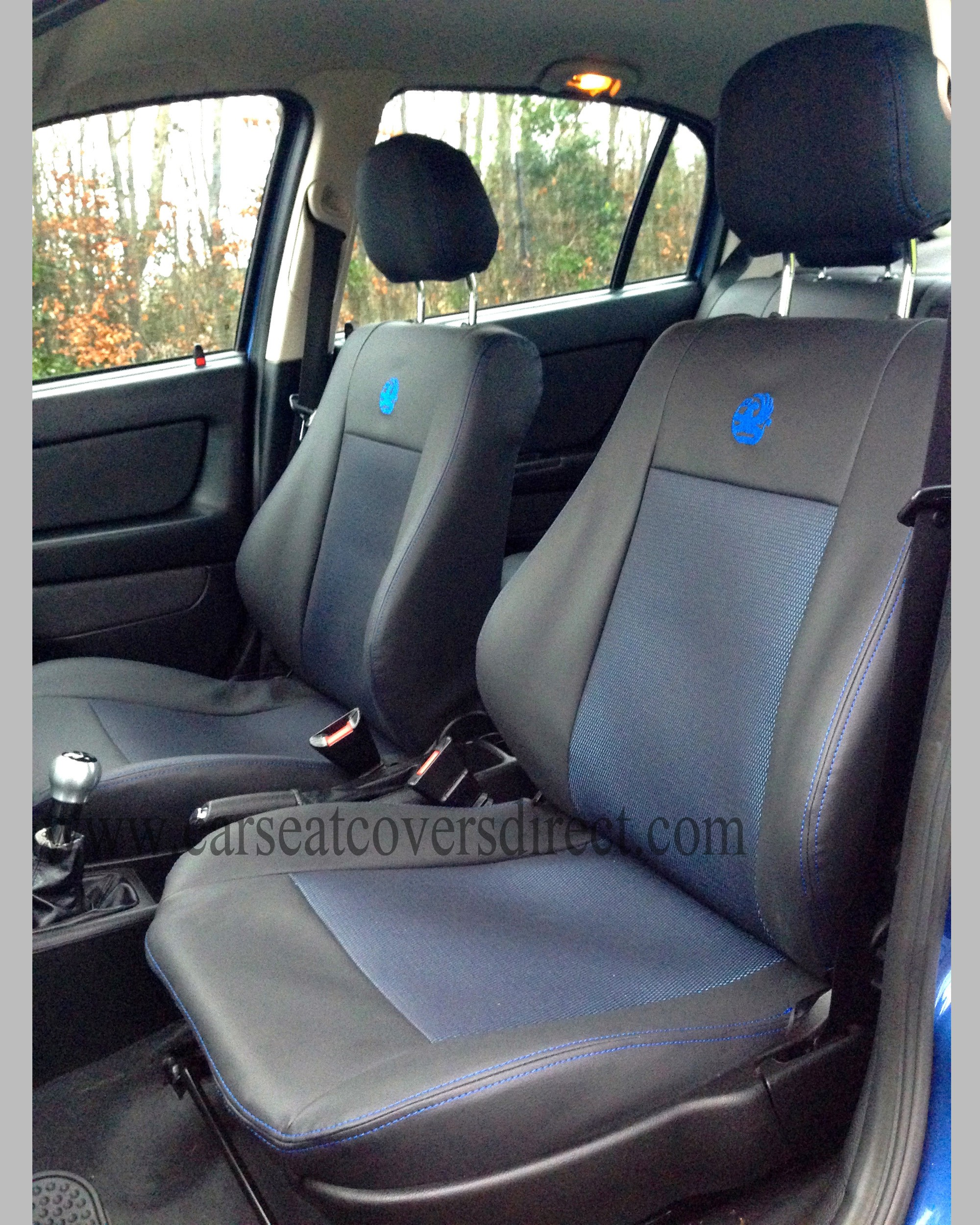 OPEL ASTRA G Leatherette & Cloth Seat Covers