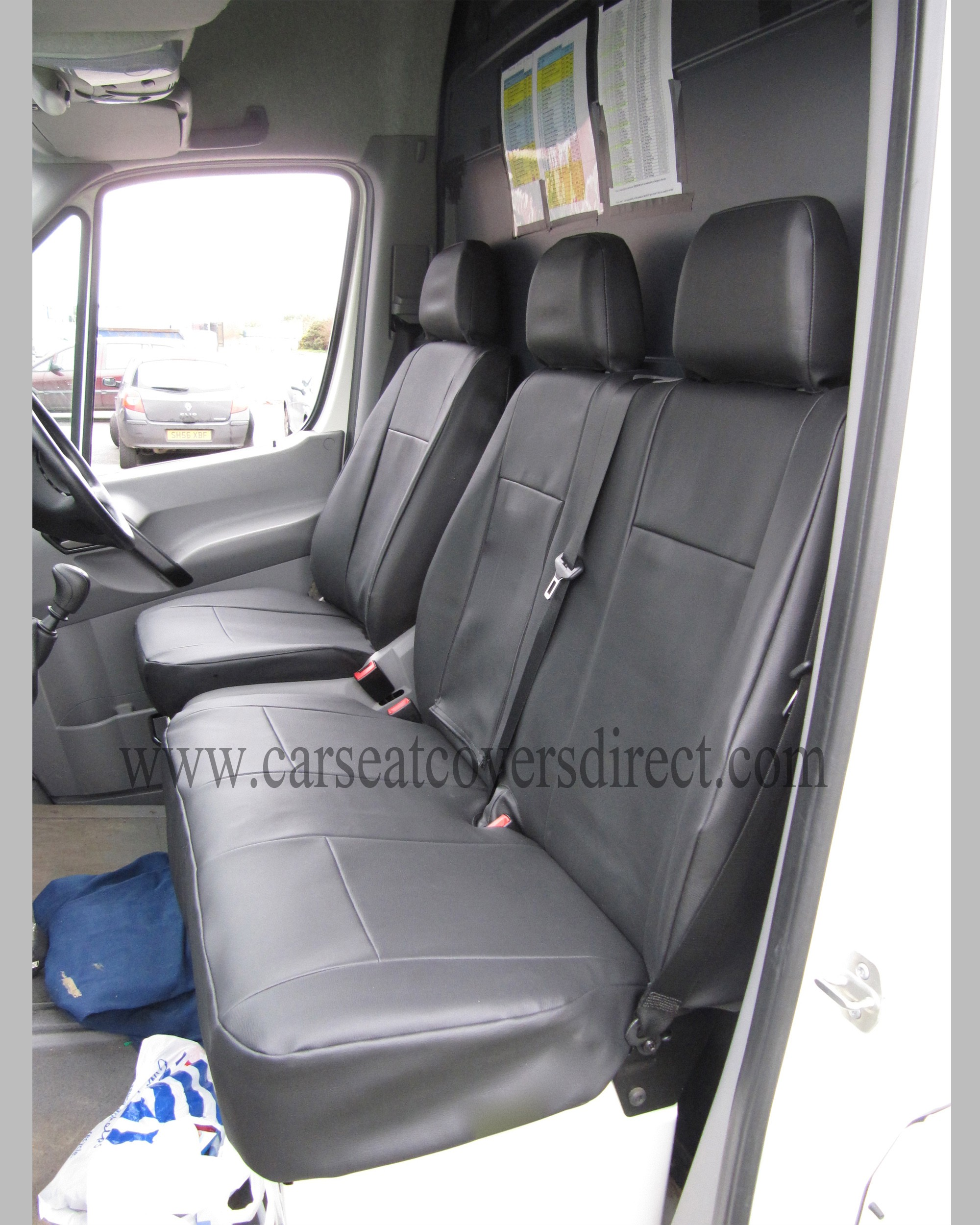 VOLKSWAGEN VW Crafter black Seat Covers