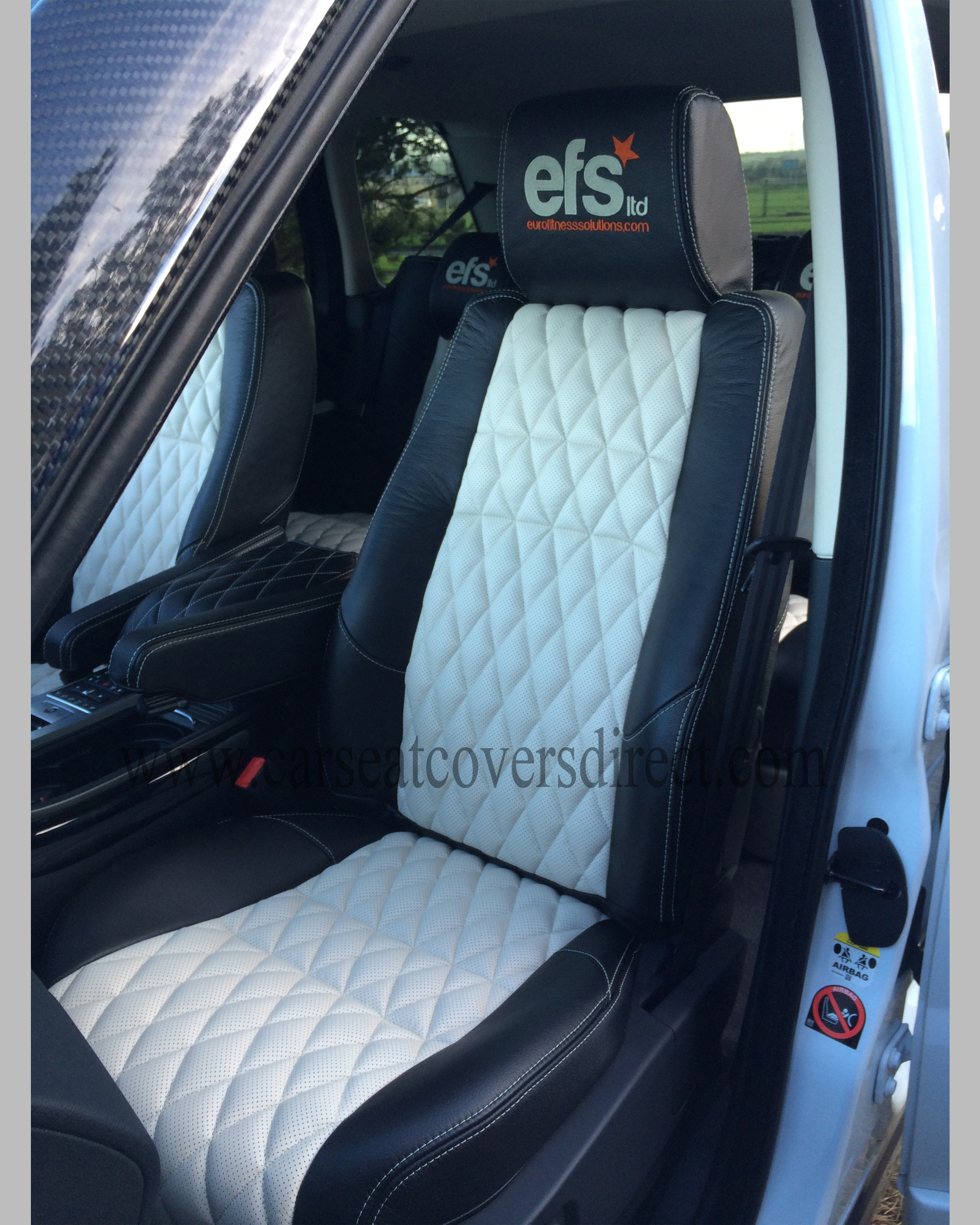 RANGE ROVER SPORT LEATHER RETRIM