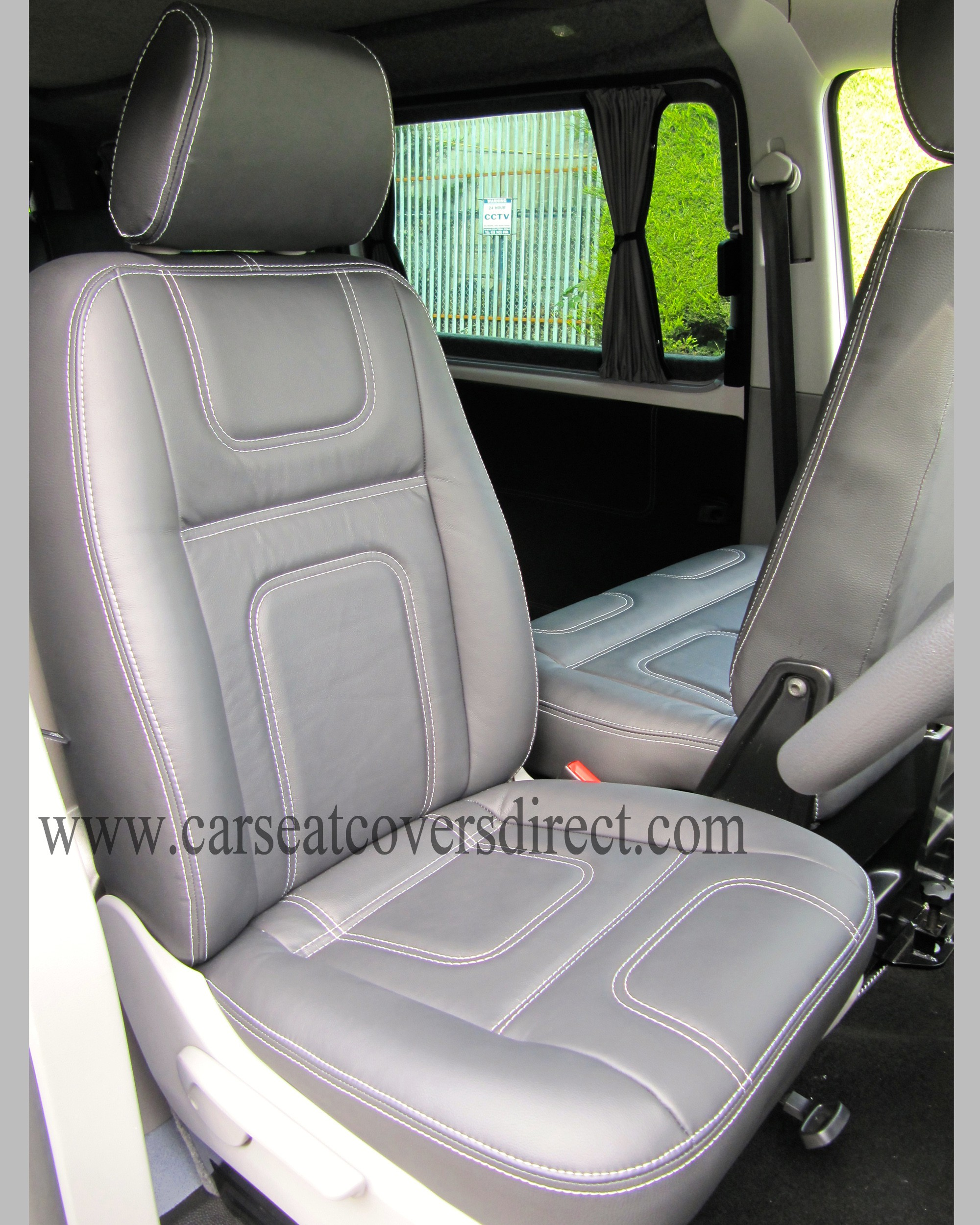 VOLKSWAGEN VW TRANSPORTER T5 AUTOHAUS LEATHER RETRIM