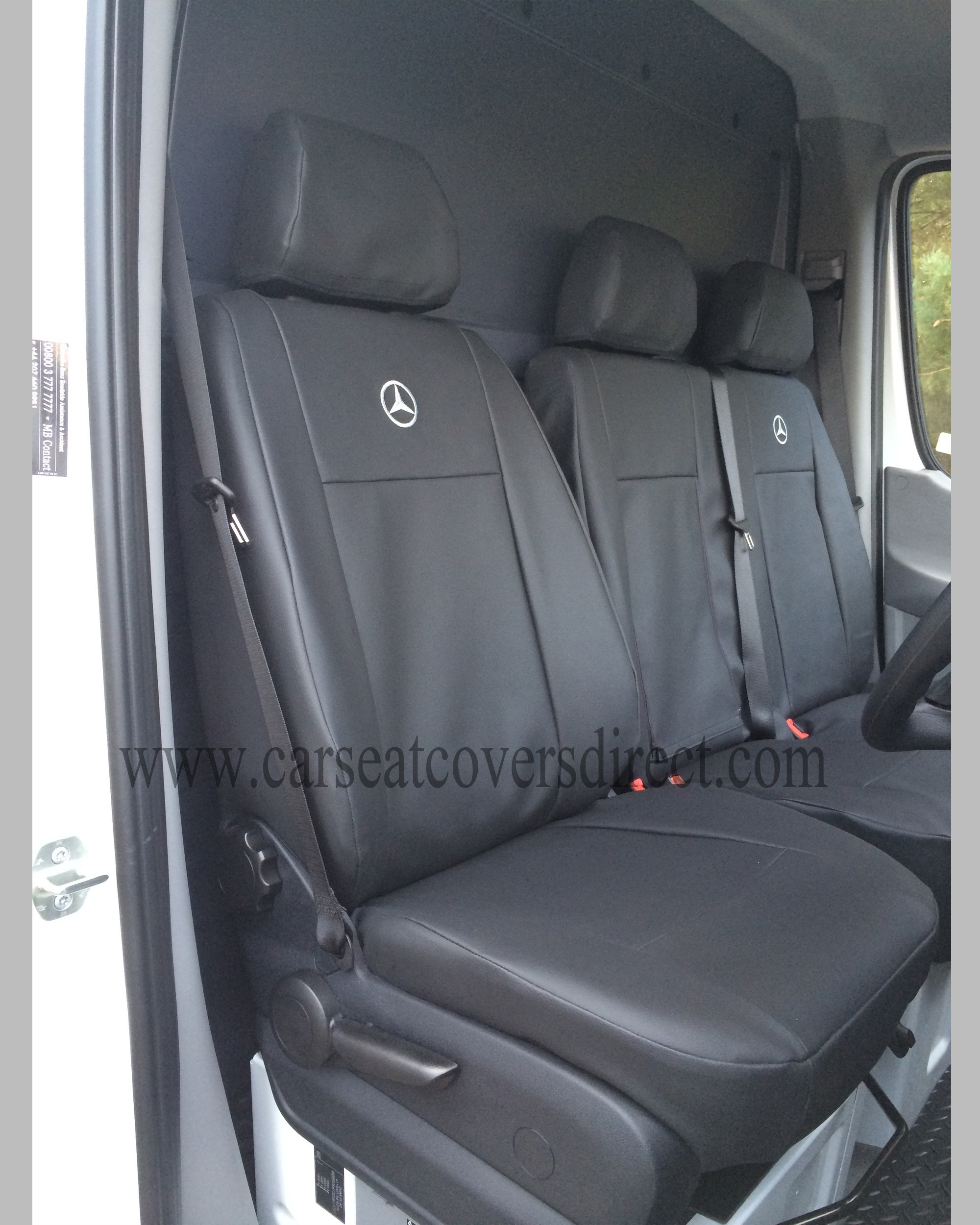 Drivers seat with seat cover